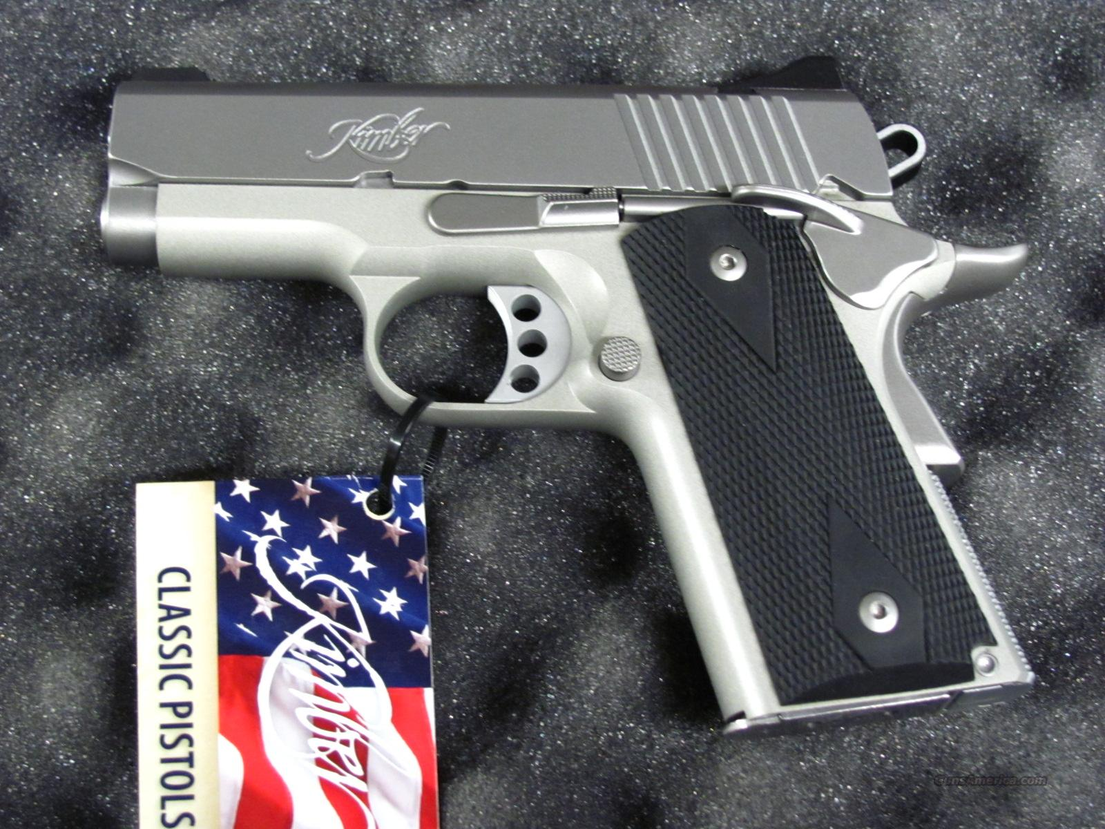 Kimber Stainless Ultra Carry II 9 mm  **NEW**  Guns > Pistols > Kimber of America Pistols