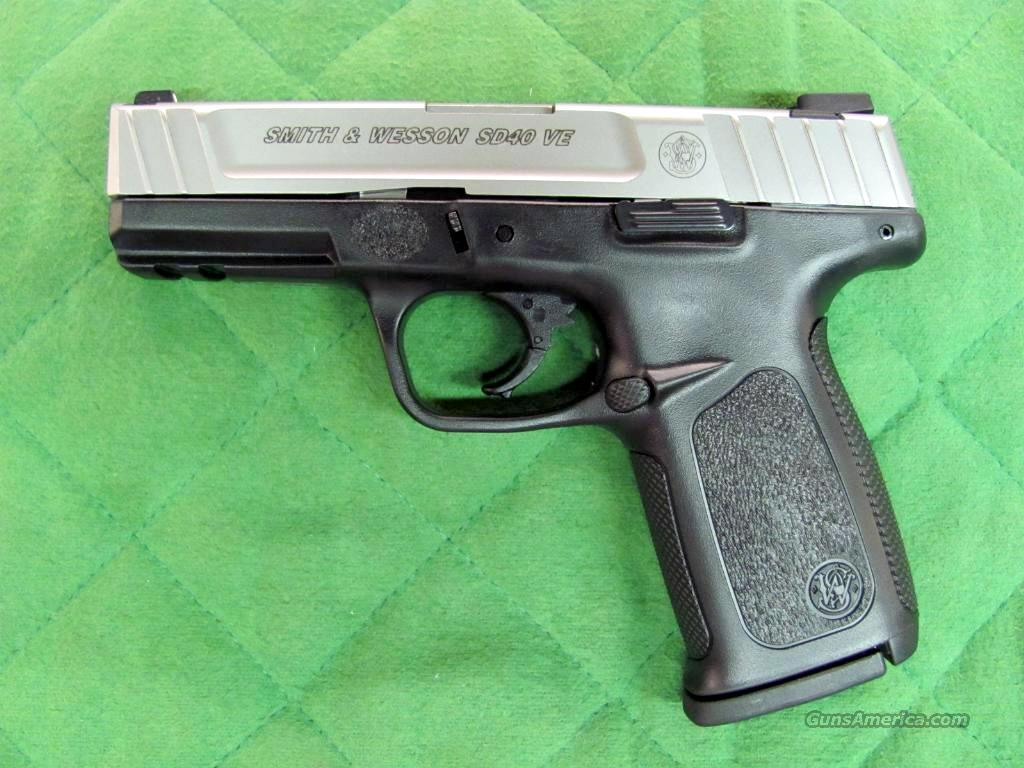 Smith & Wesson Model SD40 VE 40 S&W  **NEW**  Guns > Pistols > Smith & Wesson Pistols - Autos > Polymer Frame