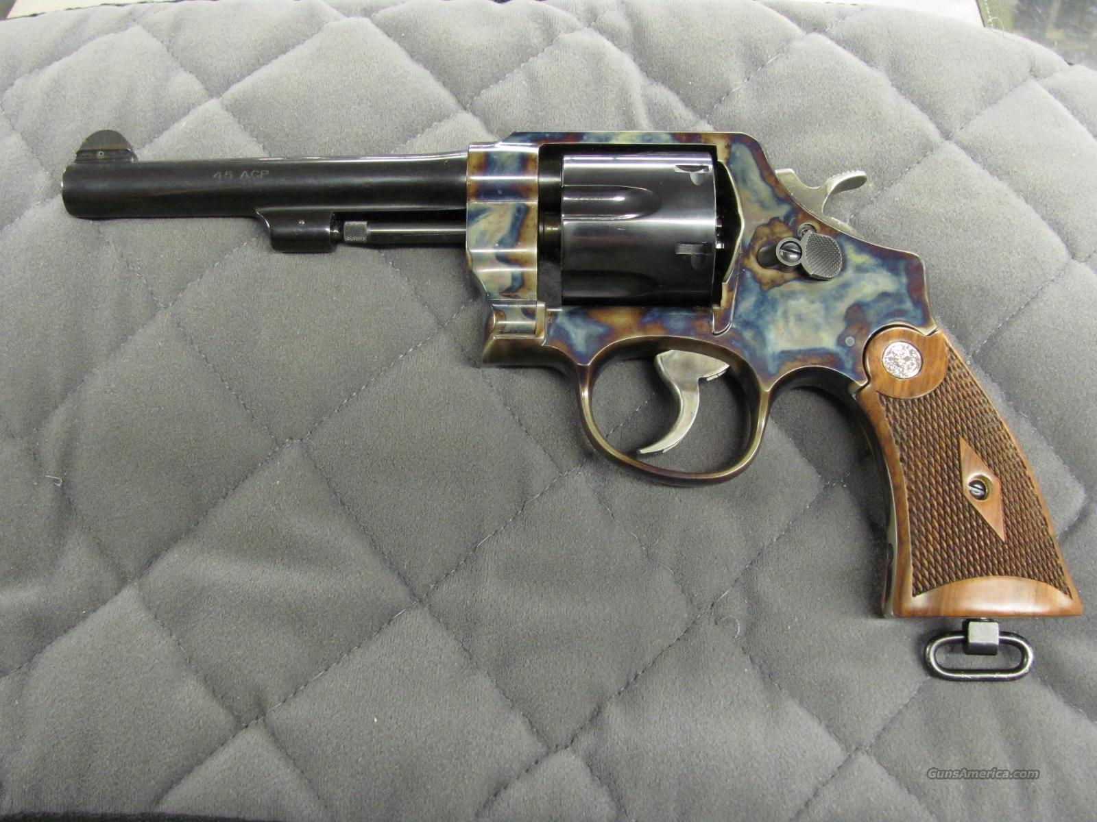 Smith & Wesson Model 22 45 ACP Color Case  **NEW**  Guns > Pistols > Smith & Wesson Revolvers > Full Frame Revolver