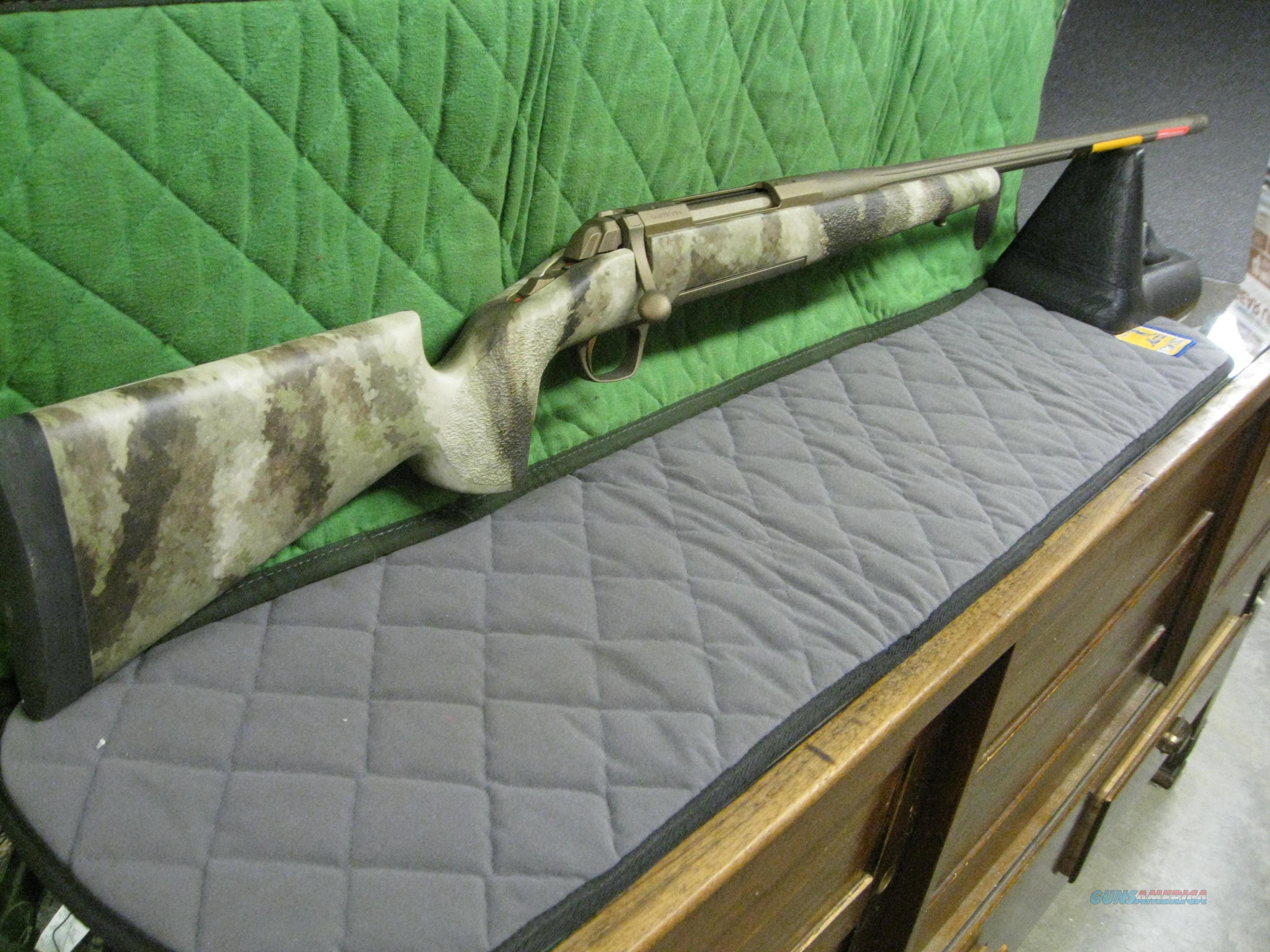 Browning X-Bolt Hell's Canyon Long Range McMillan 28 Nosler 035395288  Guns > Rifles > Browning Rifles > Bolt Action > Hunting > Blue