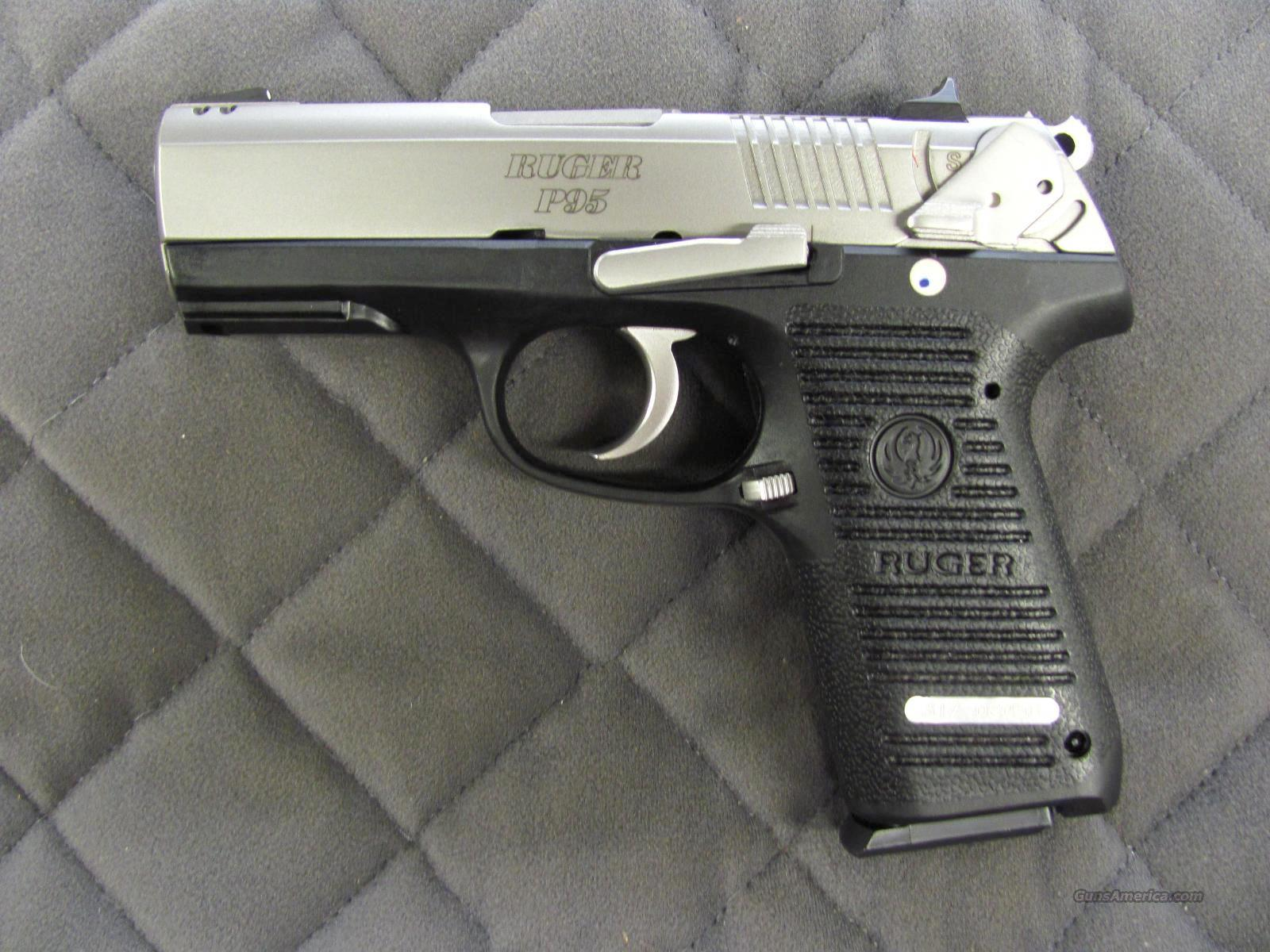 Ruger P95 Stainless 9 mm  **NEW**  Guns > Pistols > Ruger Semi-Auto Pistols > P-Series