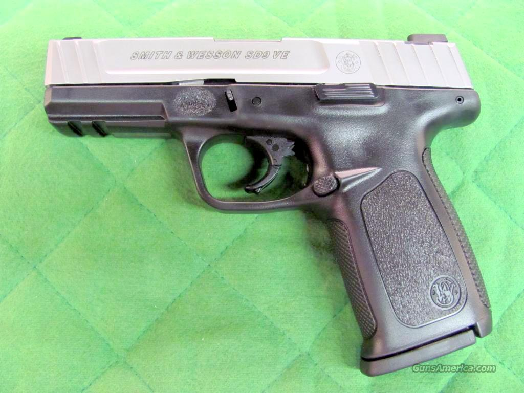 Smith & Wesson Model SD9 VE 9 mm  **NEW**  Guns > Pistols > Smith & Wesson Pistols - Autos > Polymer Frame