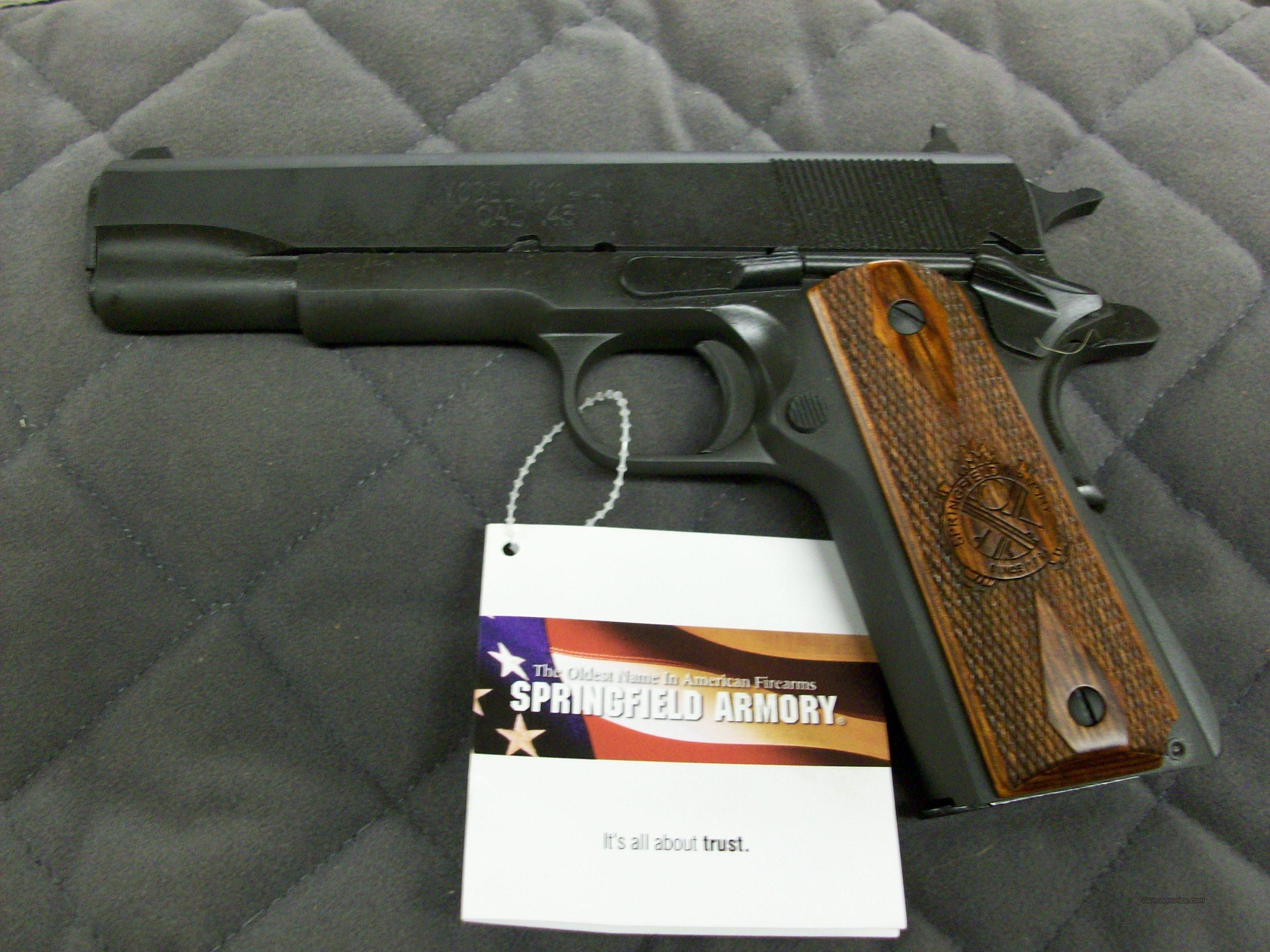 Springfield 1911 A1 Mil-Spec 45 ACP  **NEW**  Guns > Pistols > Springfield Armory Pistols > 1911 Type