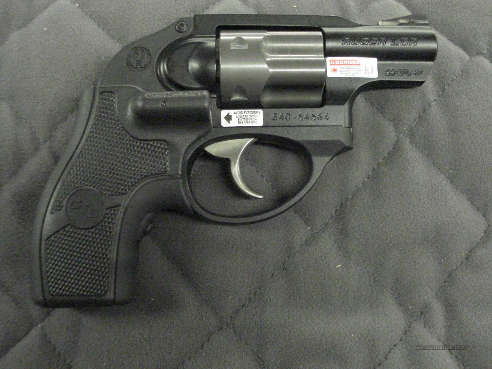 Ruger LCR-LG 38 Special +P Crimson Trace Lasergrips  **NEW**  Guns > Pistols > Ruger Double Action Revolver > SP101 Type