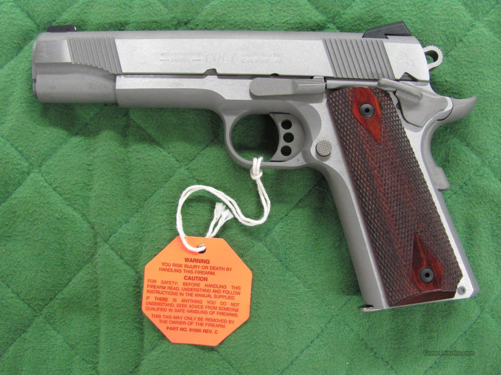 Colt 1911 Government Stainless XSE 45 acp  **NEW**  Guns > Pistols > Colt Automatic Pistols (1911 & Var)