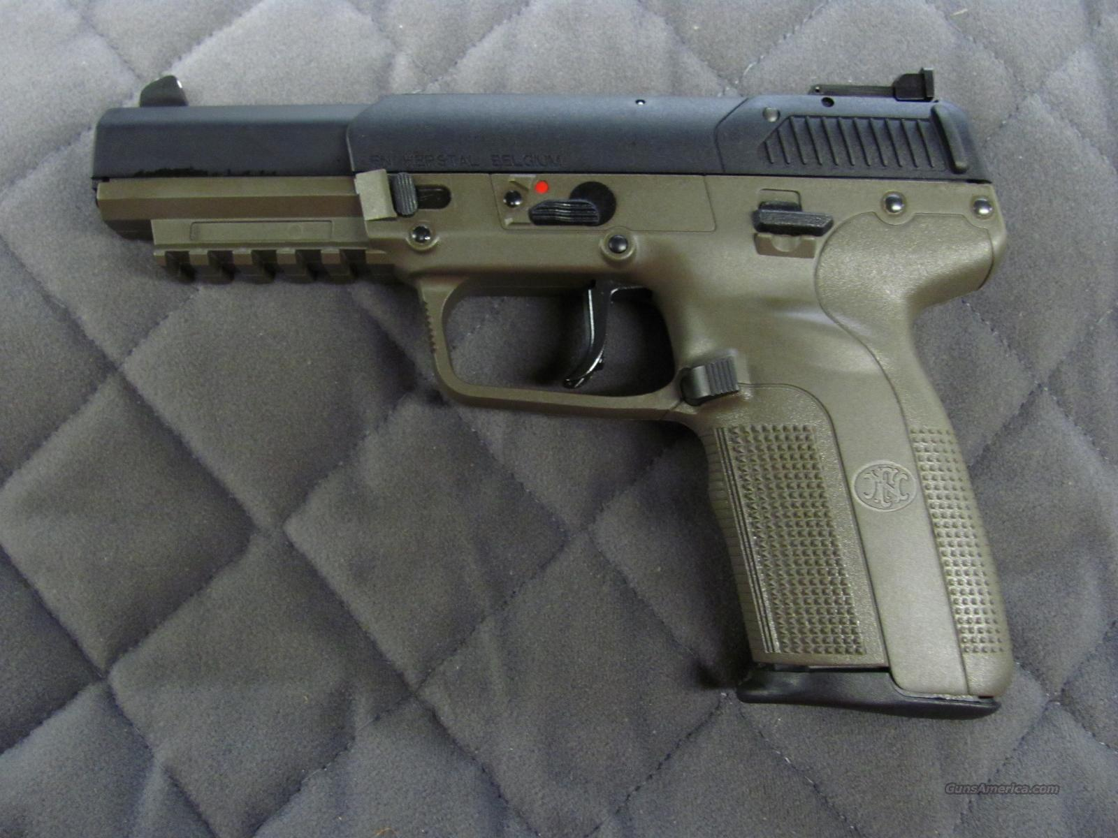 fabrique nationale fn five seven od green 5 7 for sale. Black Bedroom Furniture Sets. Home Design Ideas