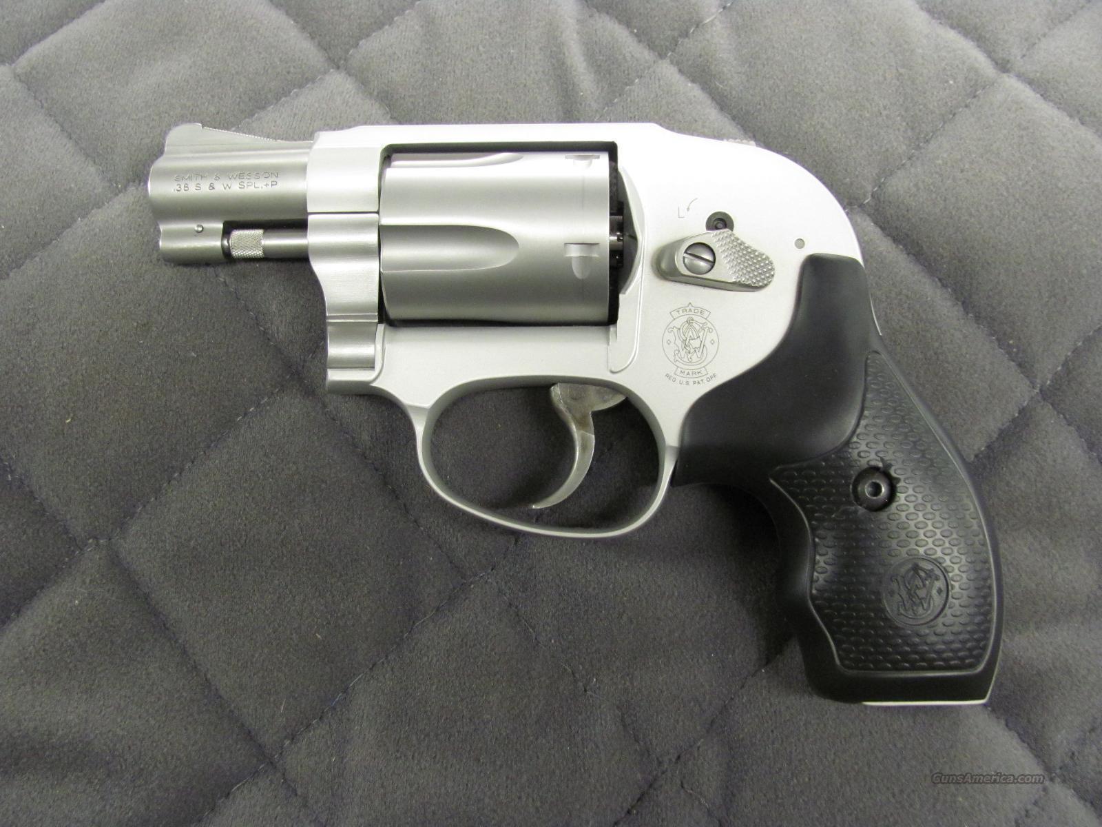 Smith & Wesson Model 638 38 Special +P  **NEW**  Guns > Pistols > Smith & Wesson Revolvers > Pocket Pistols