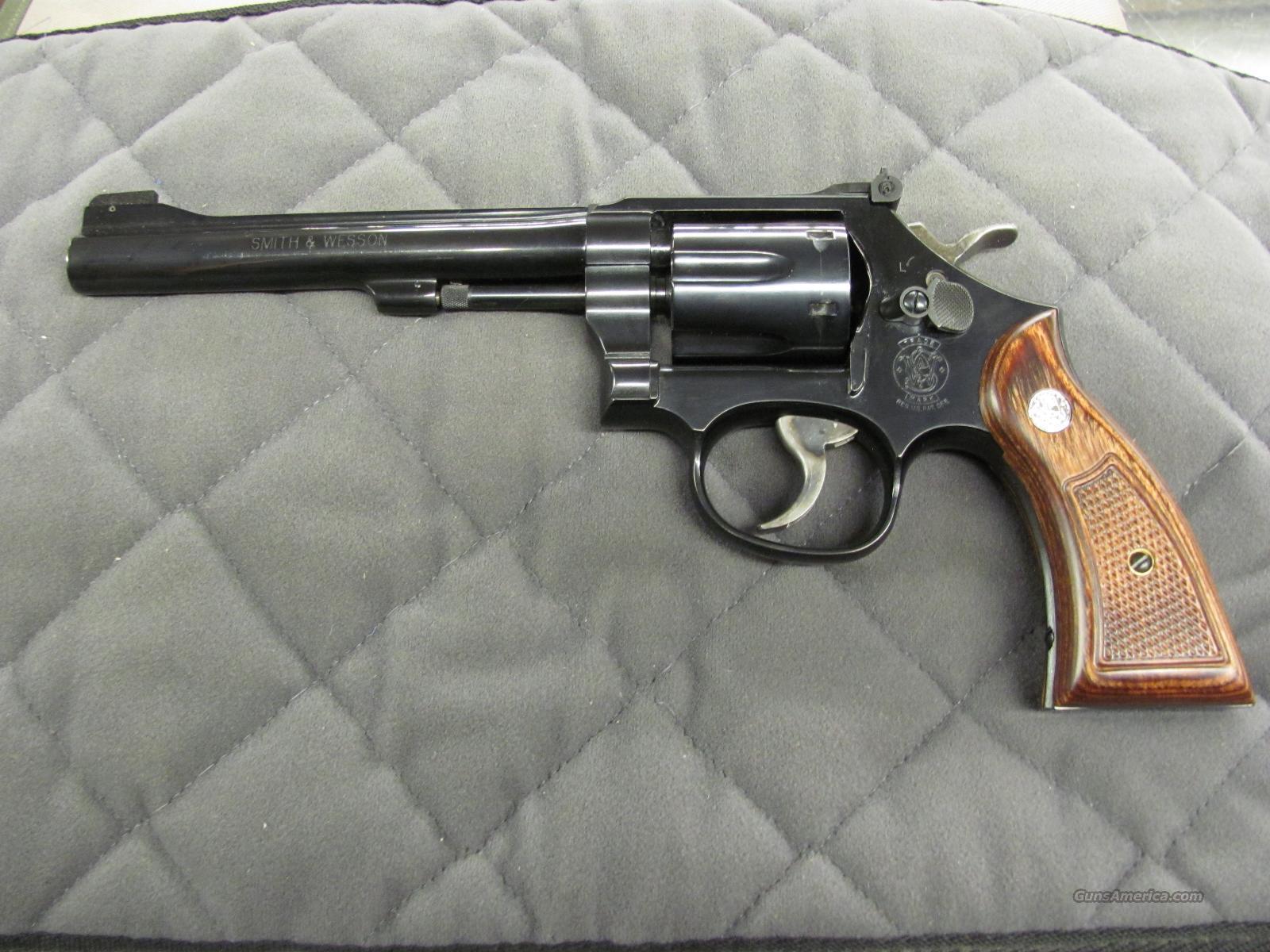 Smith & Wesson Model 17 .22 LR  NO CC FEES 150477  Guns > Pistols > Smith & Wesson Revolvers > Full Frame Revolver