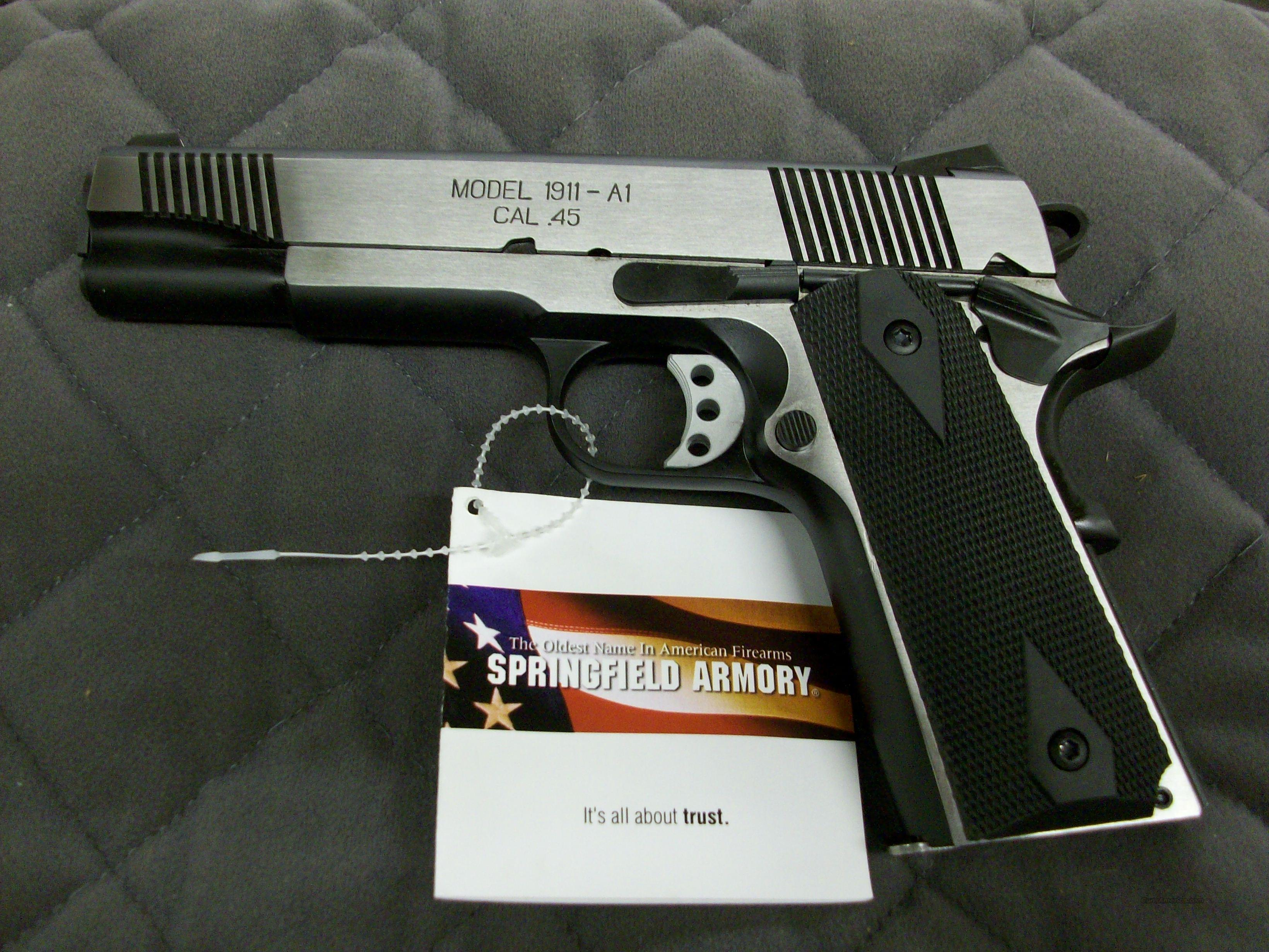 Springfield 1911 A1 Loaded 45 ACP PX9154LP  **NEW**  Guns > Pistols > Springfield Armory Pistols > 1911 Type