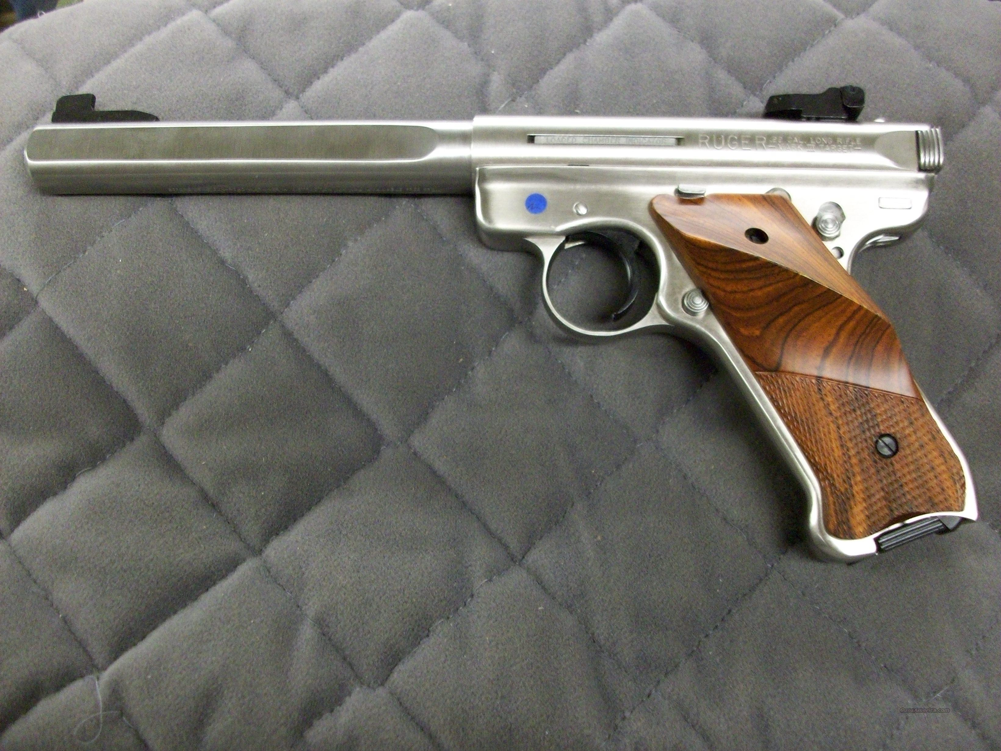 Ruger Mark III Competition Stainless 22 LR  **NEW**  Guns > Pistols > Ruger Semi-Auto Pistols > Mark I & II Family