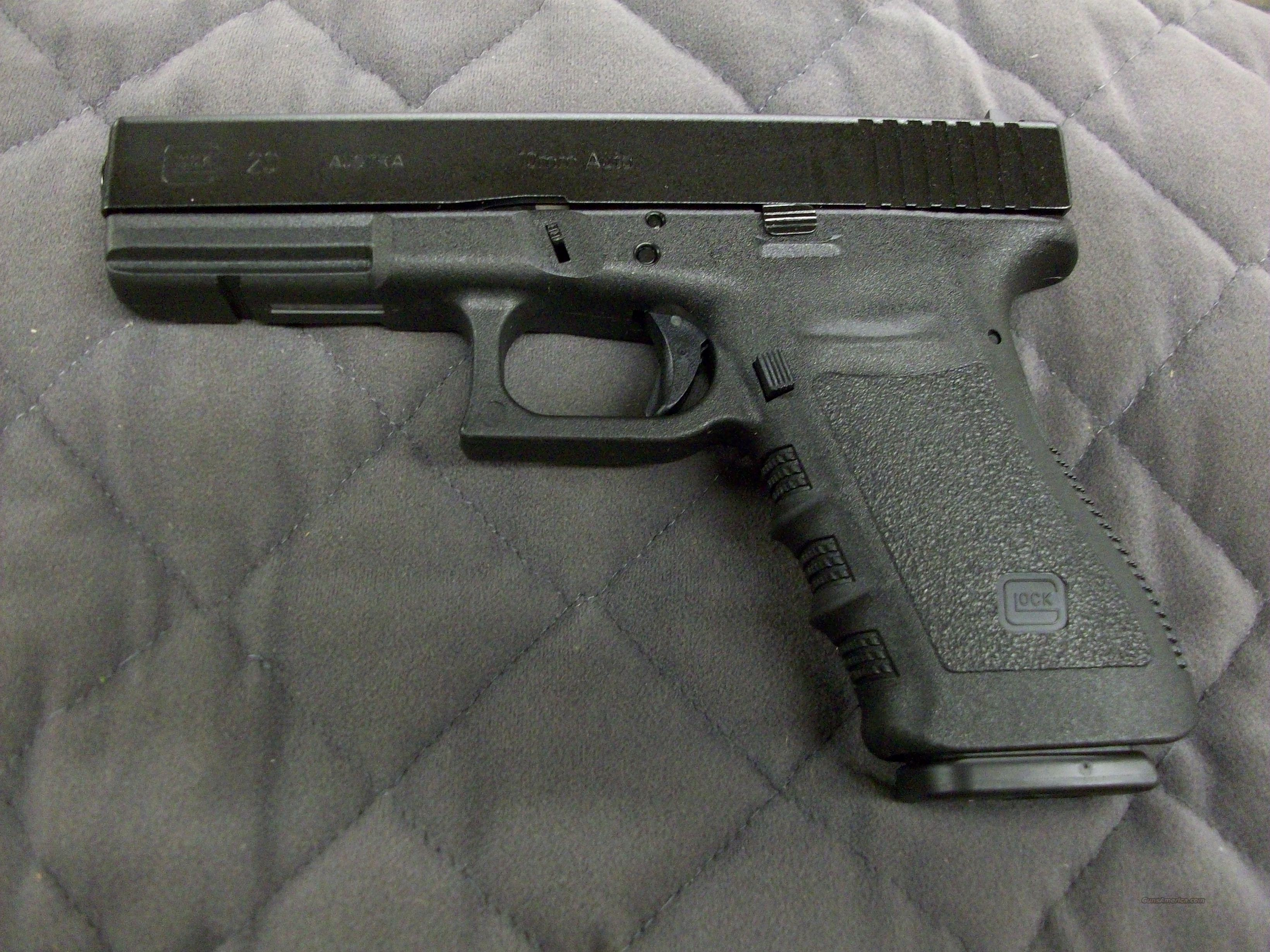 Glock 20 SF 10mm Standard  **NEW**  Guns > Pistols > Glock Pistols > 20/21