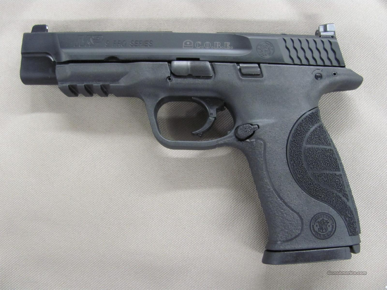 Smith & Wesson M&P9L Pro Series C.O.R.E. 9 mm  **NEW**  Guns > Pistols > Smith & Wesson Pistols - Autos > Polymer Frame