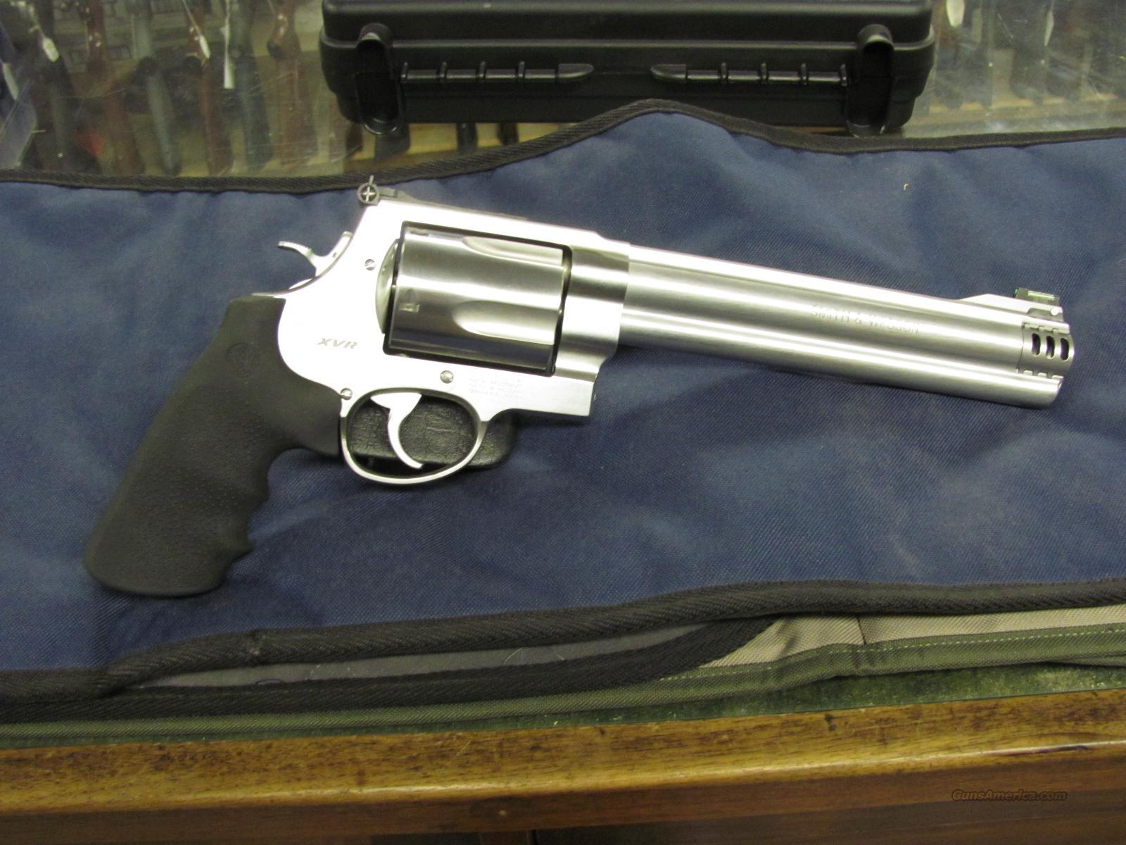 Smith & Wesson Model 460 XVR 8 3/8 inch  **NEW**  Guns > Pistols > Smith & Wesson Revolvers > Full Frame Revolver