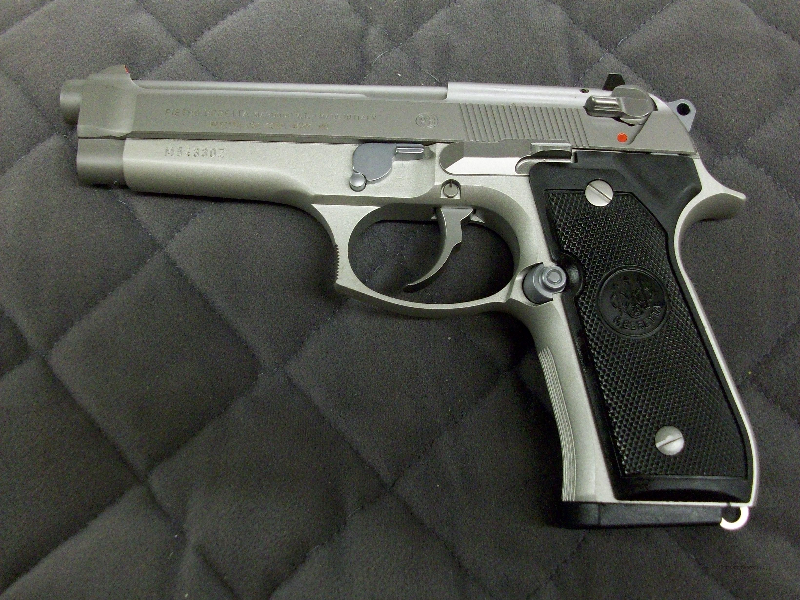 Beretta 92FS Inox 9mm  **NEW**  Guns > Pistols > Beretta Pistols > Model 92 Series