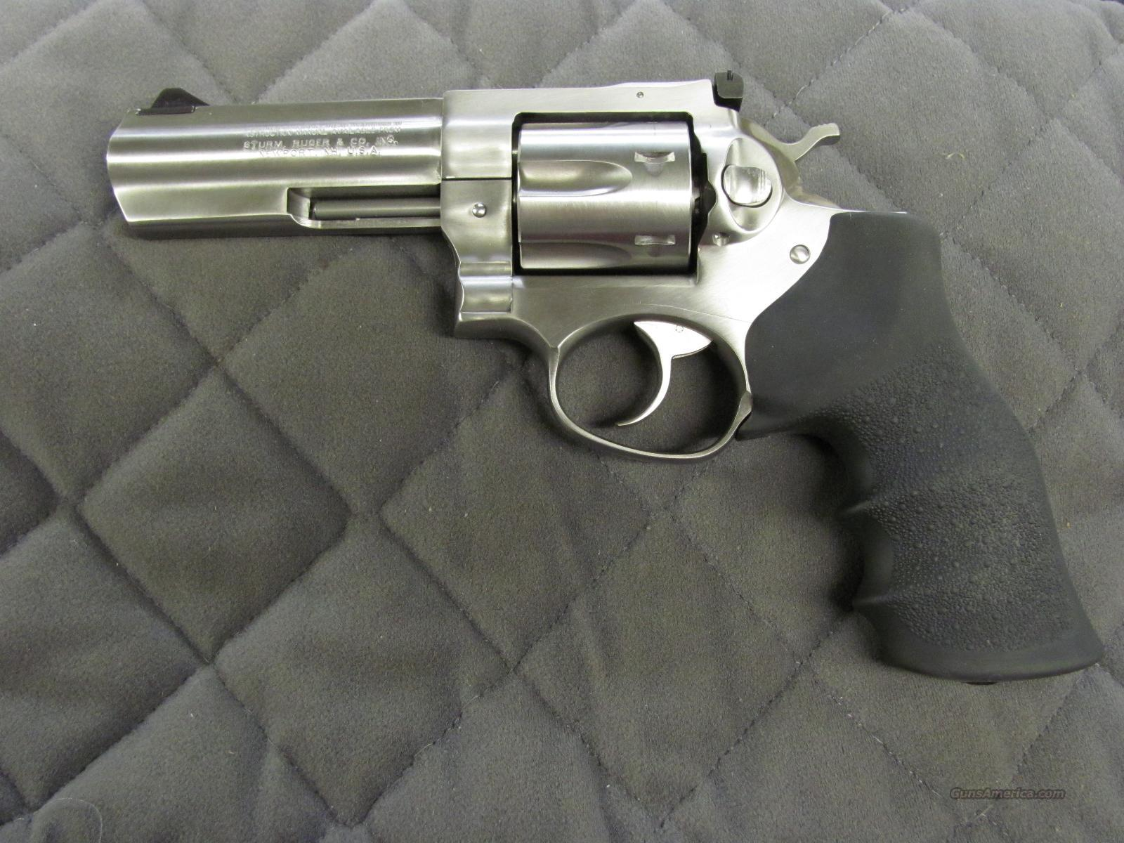 Ruger GP100 357 Magnum 4.2 inch Stainless  **NEW**  Guns > Pistols > Ruger Double Action Revolver > SP101 Type