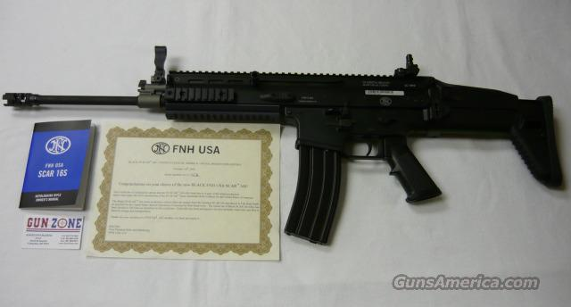FNH USA SCAR 16S SEMI-AUTOMATIC RIFLE  Guns > Rifles > FNH - Fabrique Nationale (FN) Rifles > Semi-auto > Other