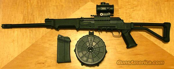 Saiga 12 Conversion w/20 Round Drum  Guns > Shotguns > Saiga Shotguns > Shotguns