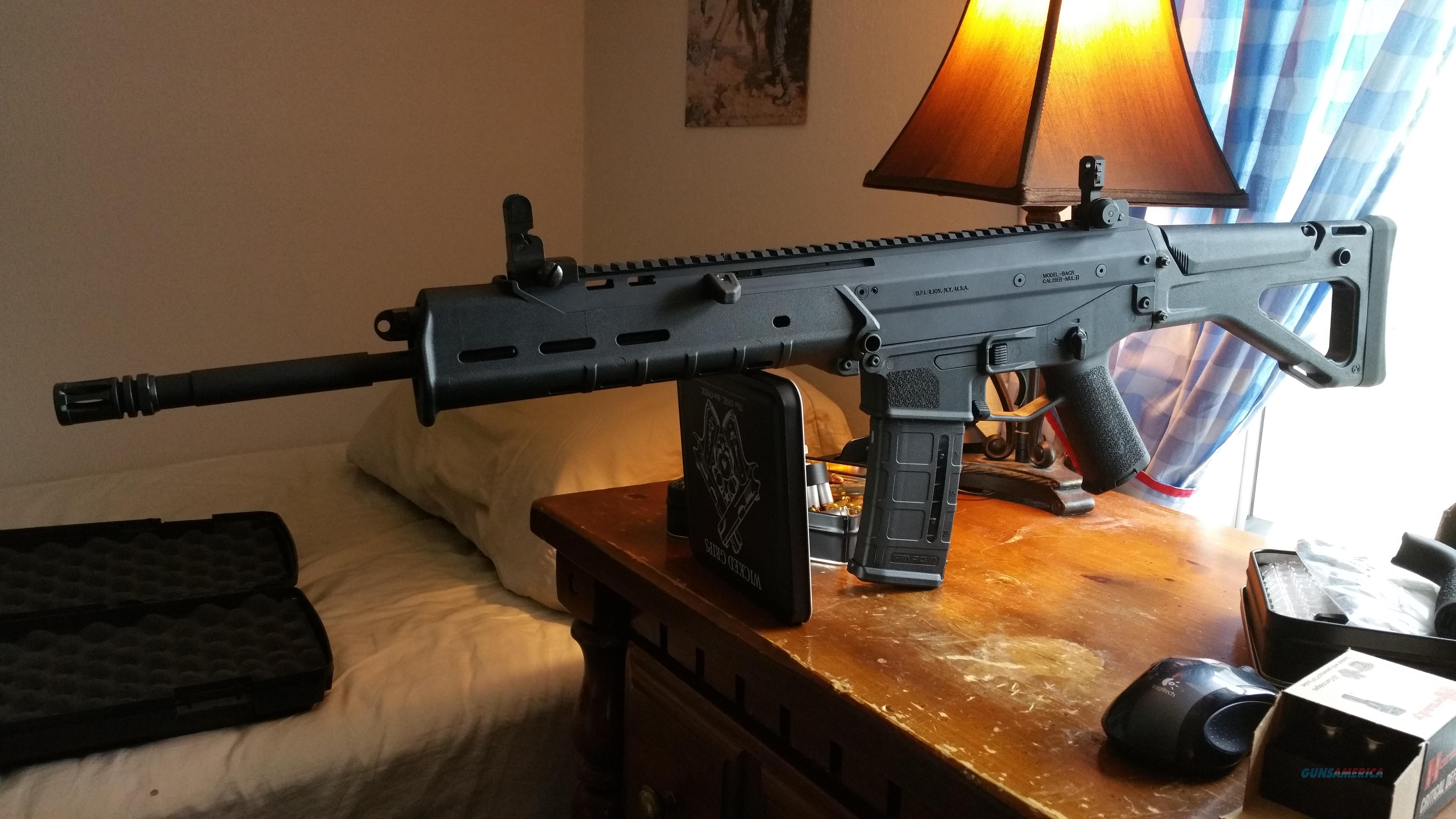 Black Bushmaster ACR with Lots of Mags and Extra Stock  Guns > Rifles > Bushmaster Rifles > Complete Rifles
