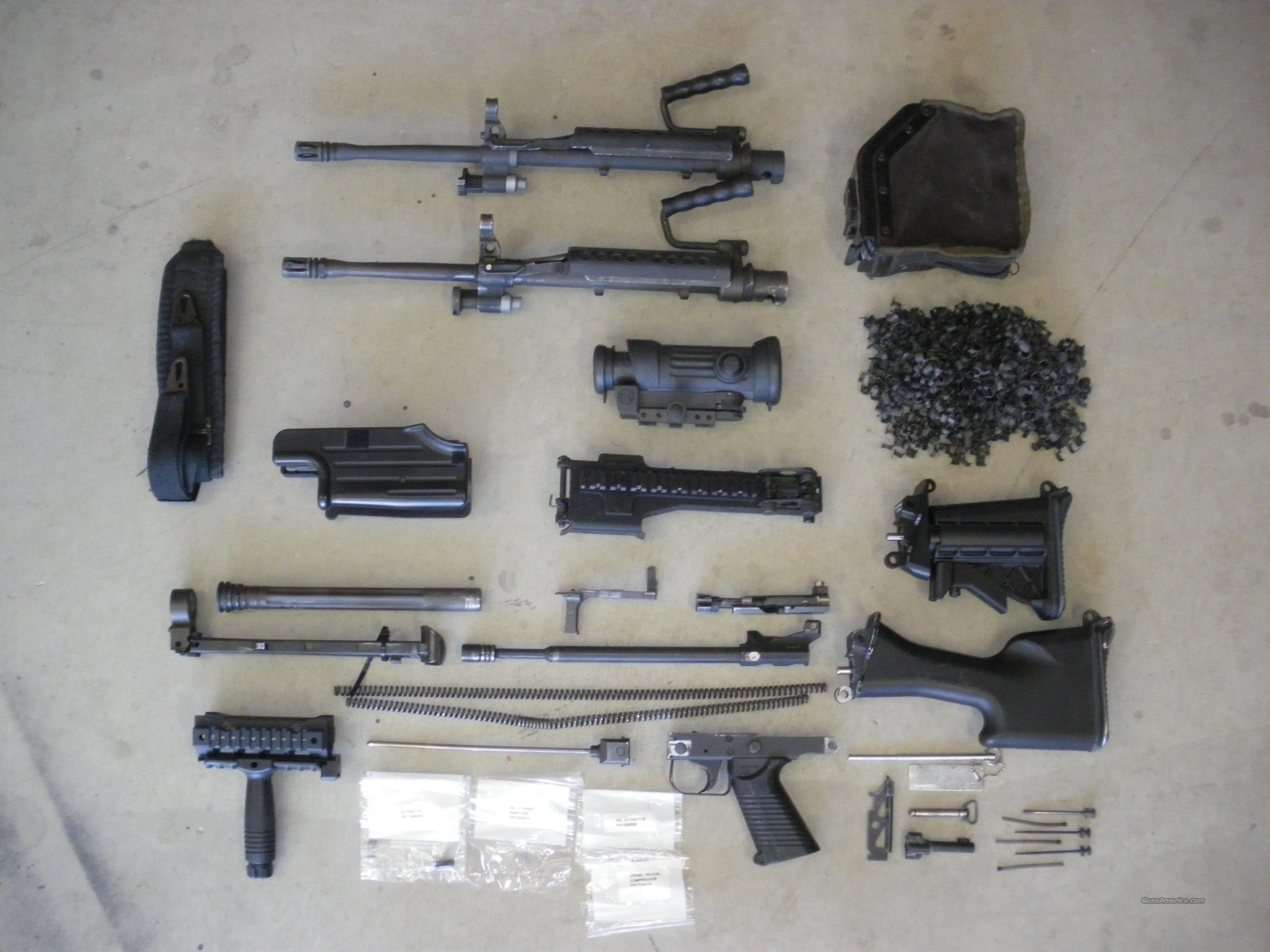 M249 SAW COMPLETE PARTS KIT W ACCESSORIES for sale