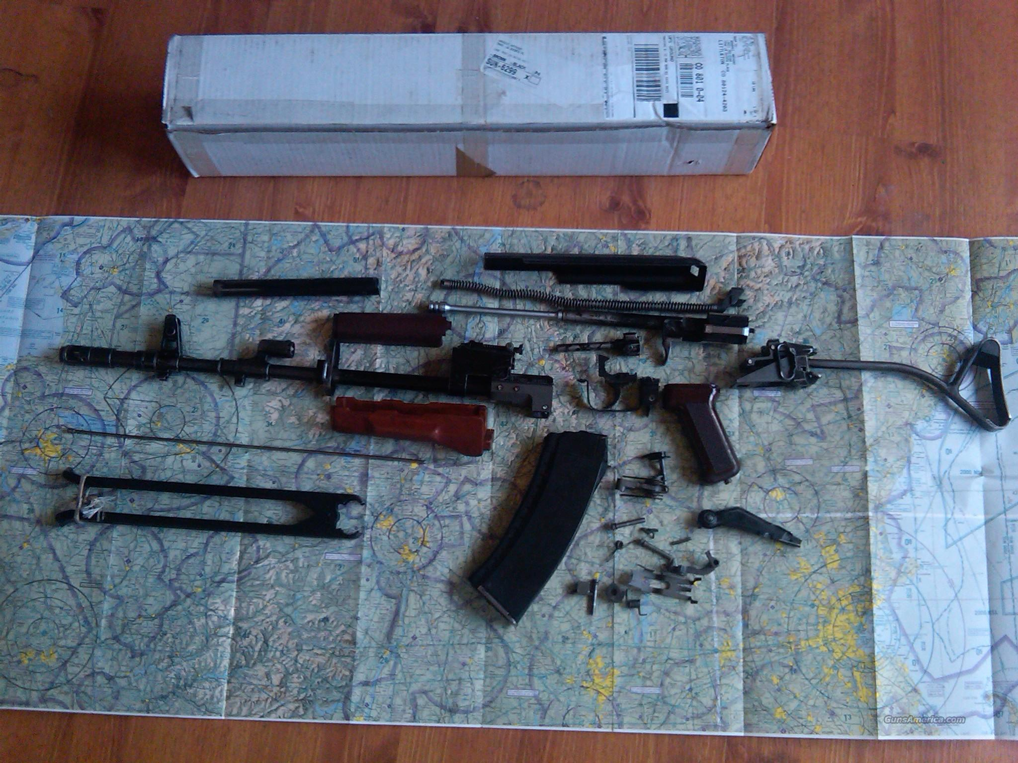Polish Tantal parts kit with original Polish barrel  Non-Guns > Gun Parts > Military - Foreign