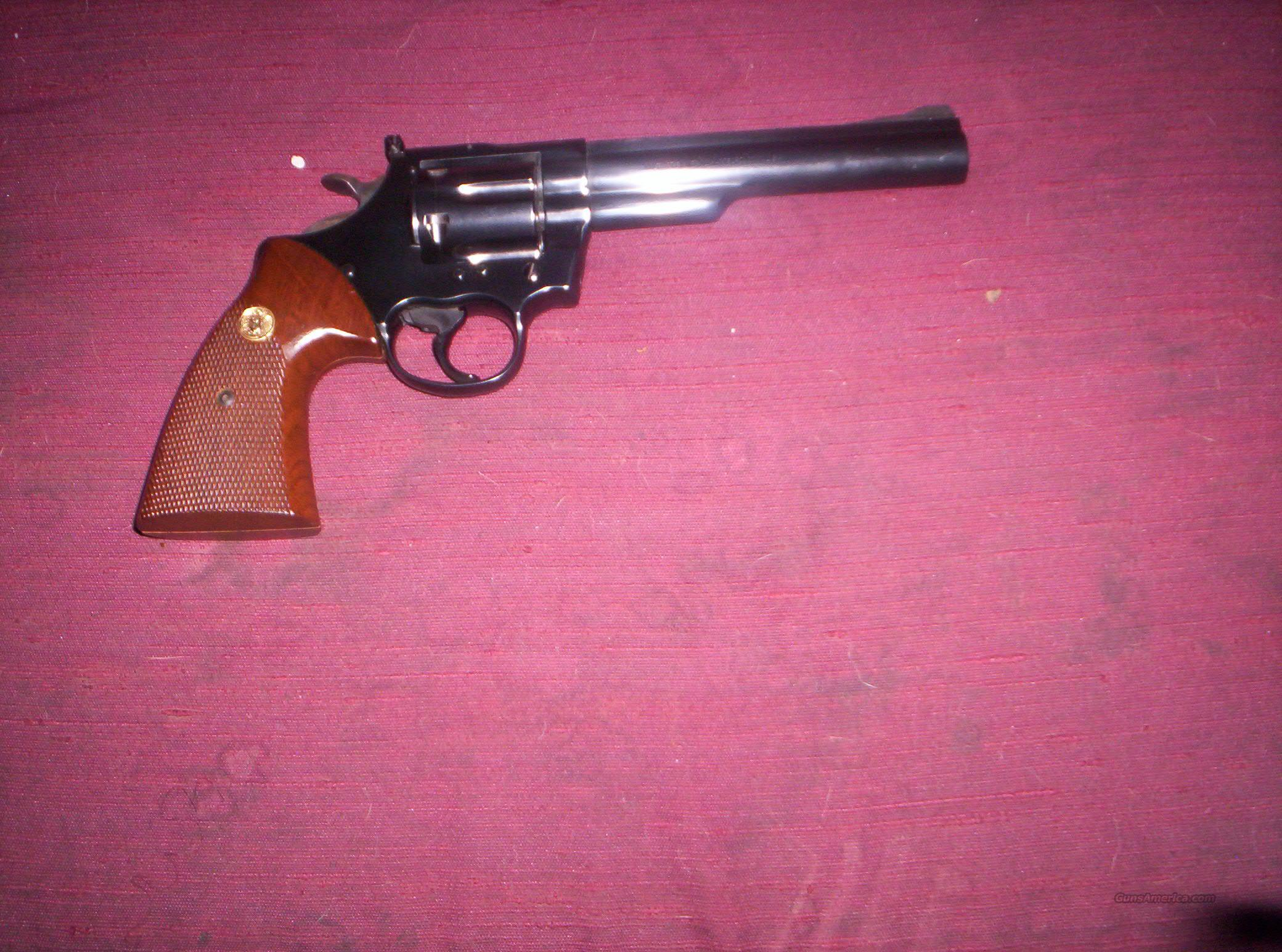 "COLT TROOPER MK III 6"" .357  Guns > Pistols > Colt Double Action Revolvers- Modern"