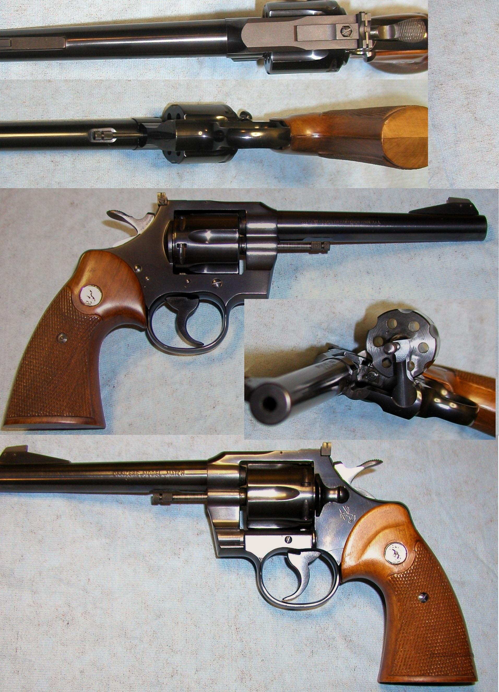 Rare Officers Model Match 5th Issue Single Action Only  Guns > Pistols > Colt Double Action Revolvers- Modern