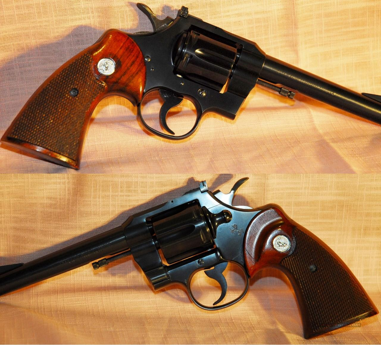 "Colt Officers Model Match .22 LR ""NEW""  Guns > Pistols > Colt Double Action Revolvers- Modern"