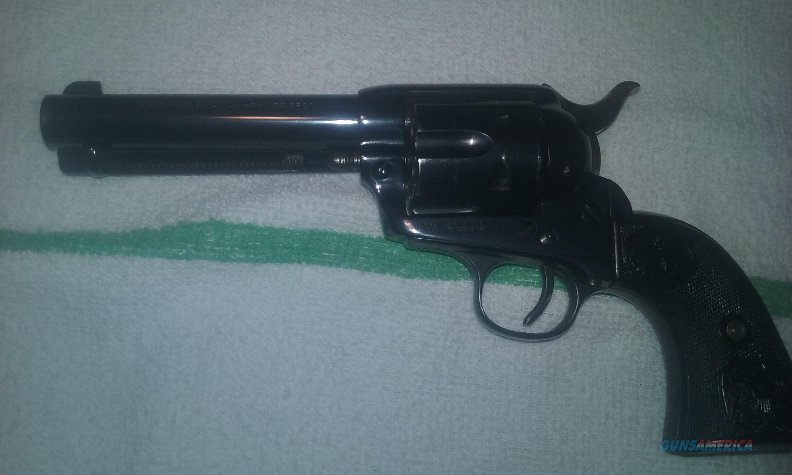1898 colt SAA .38 special  4 3/4bbl  Guns > Pistols > Colt Single Action Revolvers - 1st Gen.