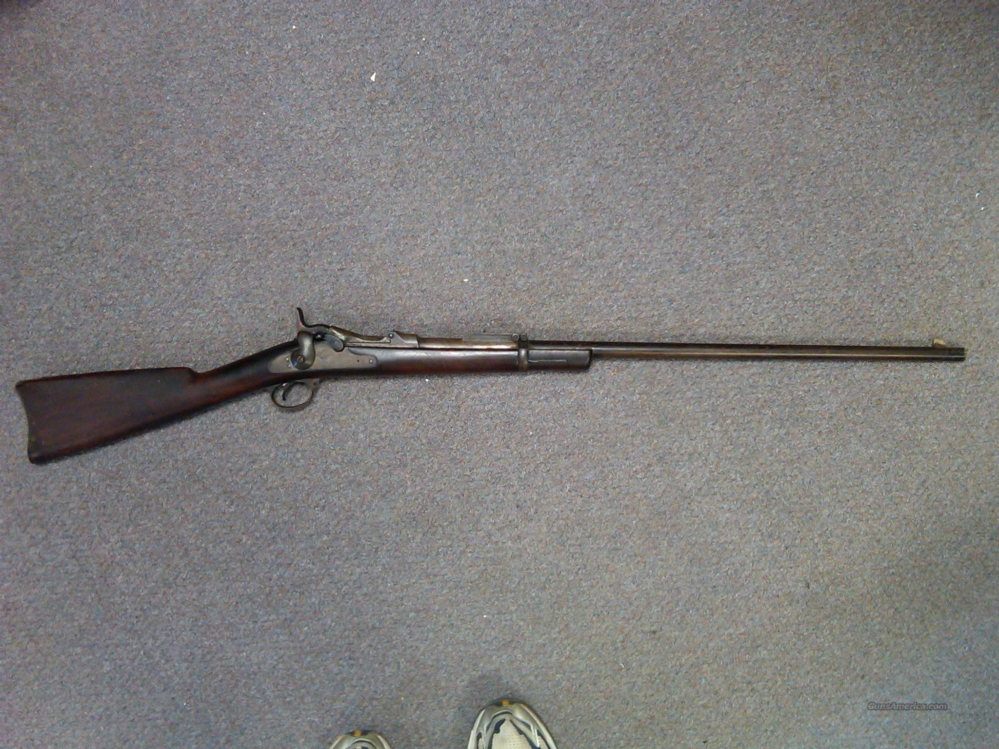 Springfield 45-70 Trapdoor sporterized  Guns > Rifles > Military Misc. Rifles US > Pre-1900