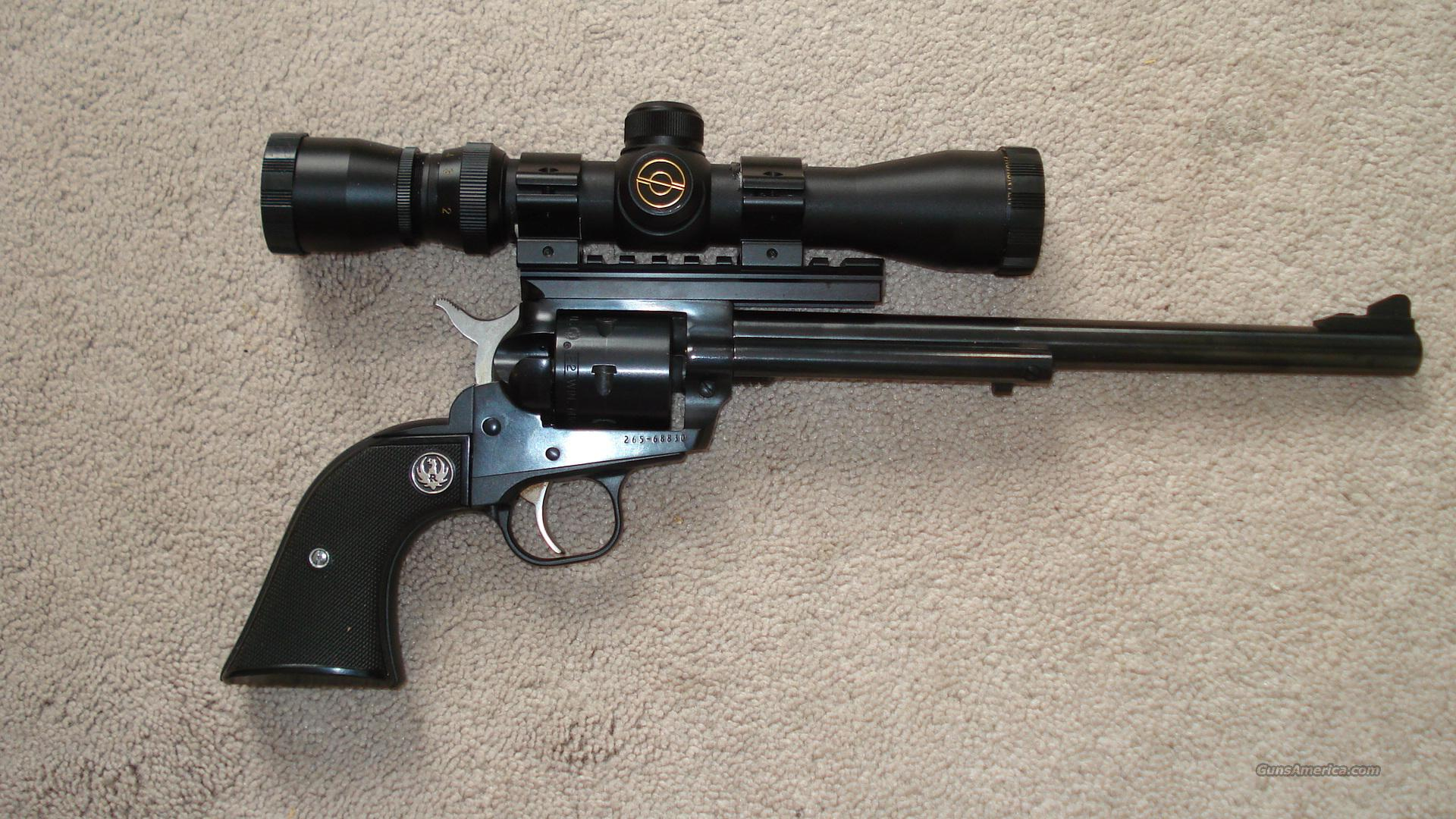 "Ruger Super Single Six  9.5"" barrel/ scoped  Guns > Pistols > Ruger Single Action Revolvers > Single Six Type"