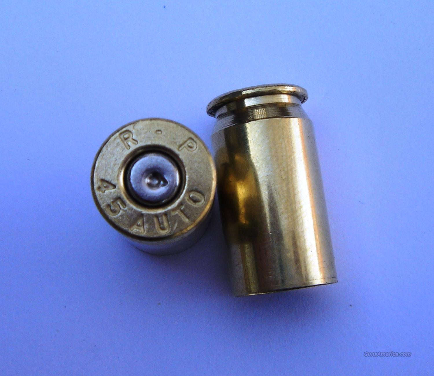 .45 ACP Once-Fired Brass - 1500 Pieces - Cleaned and Polished  Non-Guns > Reloading > Components > Brass