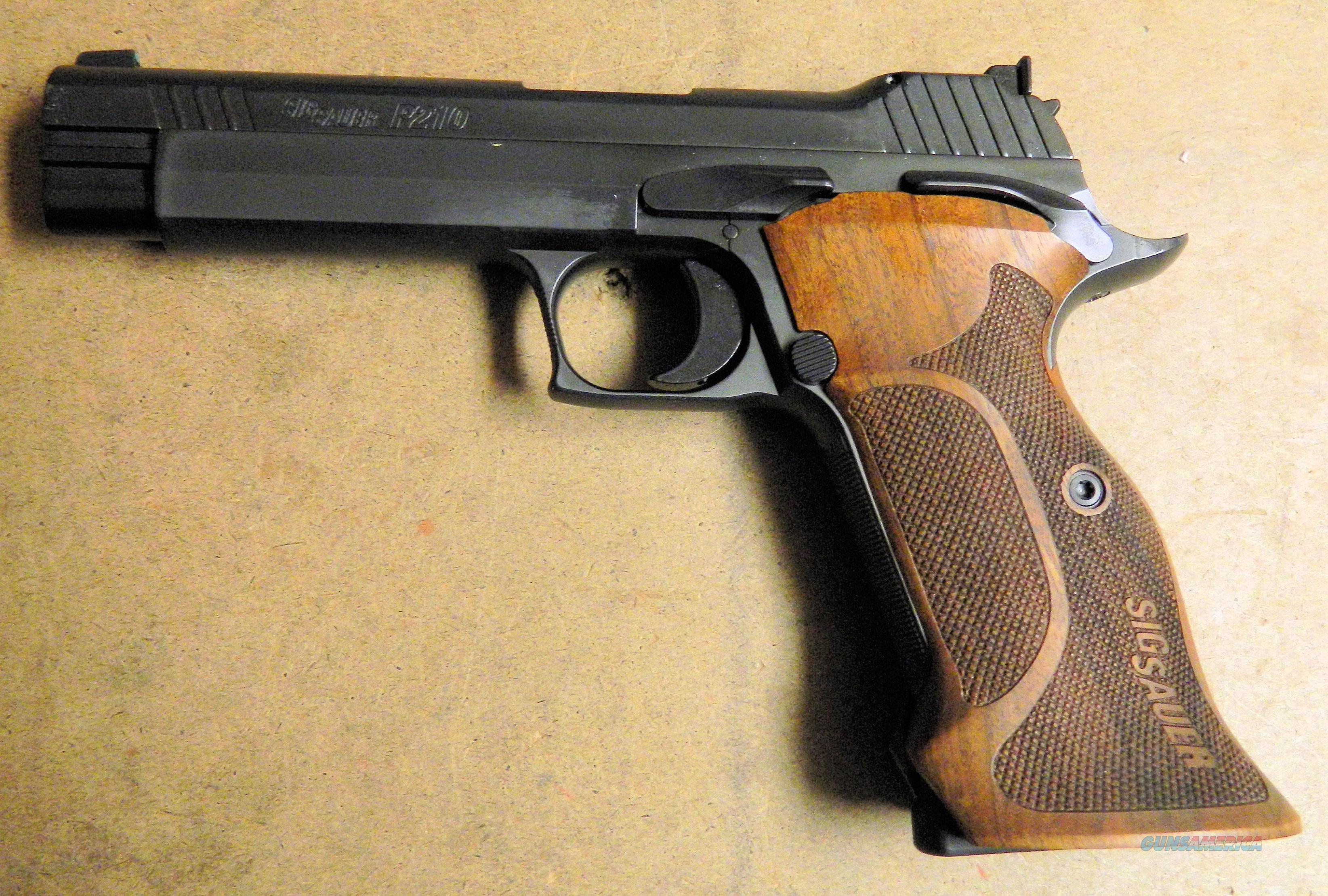 Sig Sauer Model P210A Target, 9mm Cal.  Guns > Pistols > Sig - Sauer/Sigarms Pistols > Other