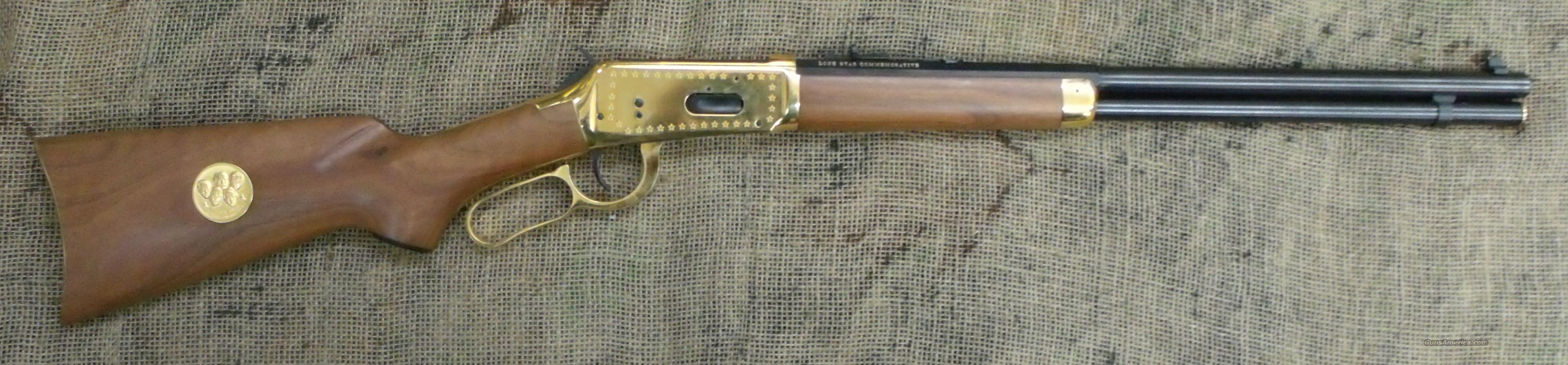 WINCHESTER 1894 Lone Star Comm. Carbine 30-30 Cal.  Guns > Rifles > Winchester Rifle Commemoratives
