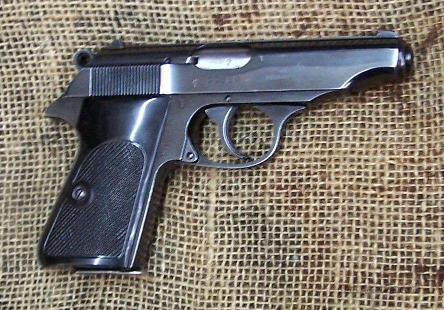 WALTHER Model PP Pistol, 22 LR Cal.  Guns > Pistols > Walther Pistols > Post WWII > PP Series