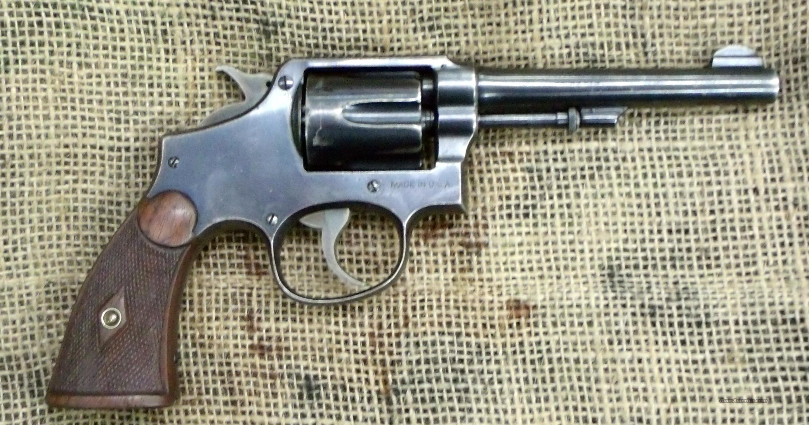 SMITH & WESSON Mod. 1905, 4th Issue, 5 inch bbl., 32-20 Cal.  Guns > Pistols > Smith & Wesson Revolvers > Pre-1945