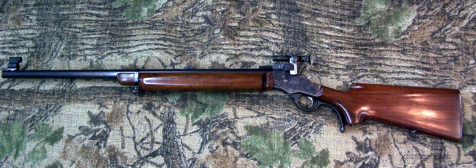 Stevens #417 Walnut Hill 22LR Target Rifle  Guns > Rifles > Stevens Rifles