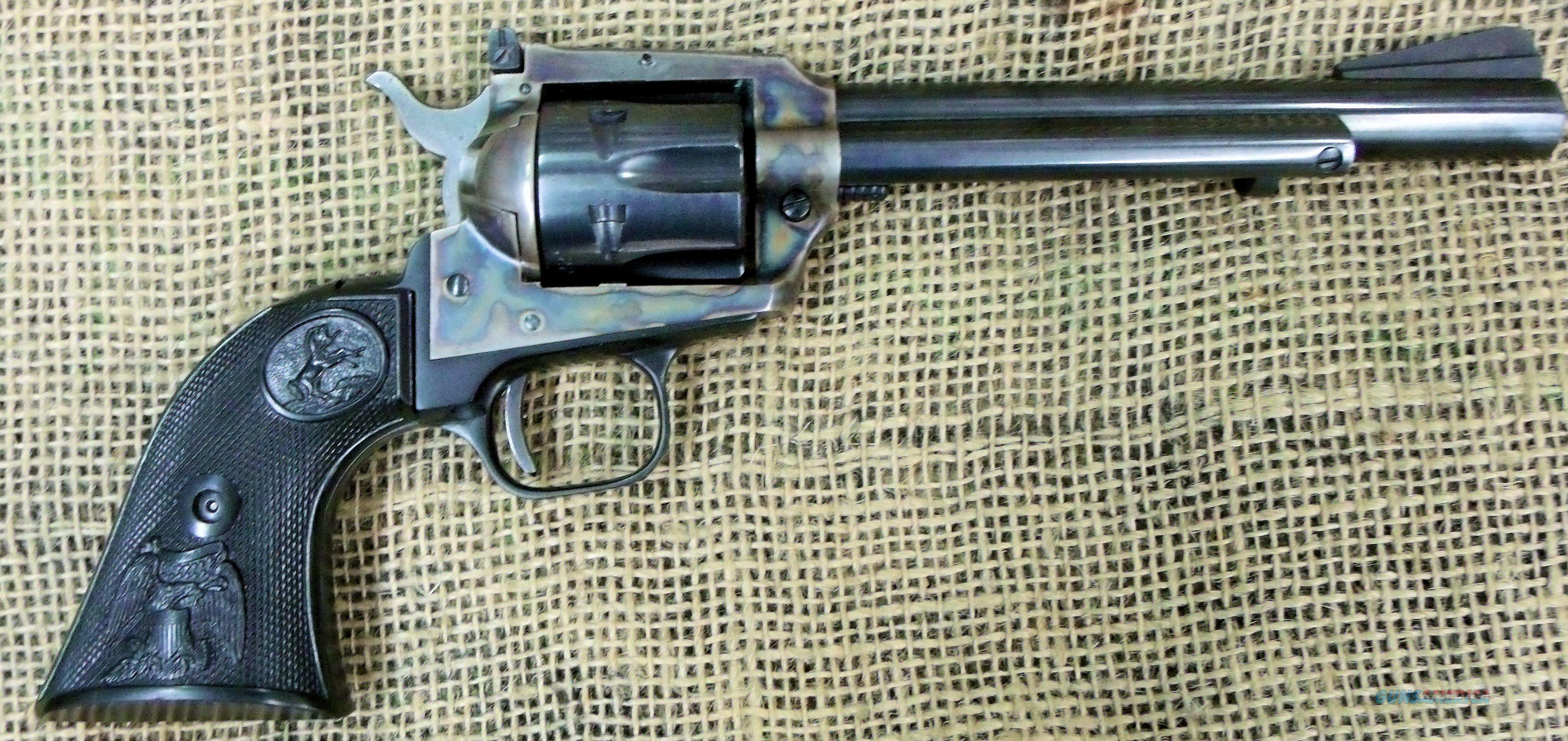 COLT SAA New Frontier Revolver, 22LR Cal.  Guns > Pistols > Colt Single Action Revolvers - Modern (22 Cal.)