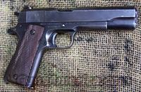 1911A1 Pistol,  Union Switch & Signal, 1943 Manuf.  Guns > Pistols > 1911 Pistol Copies (non-Colt)