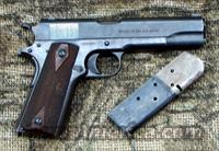 COLT 1911 Pistol,  US marked, Manuf. 1918  Guns > Pistols > Colt Automatic Pistols (1911 & Var)