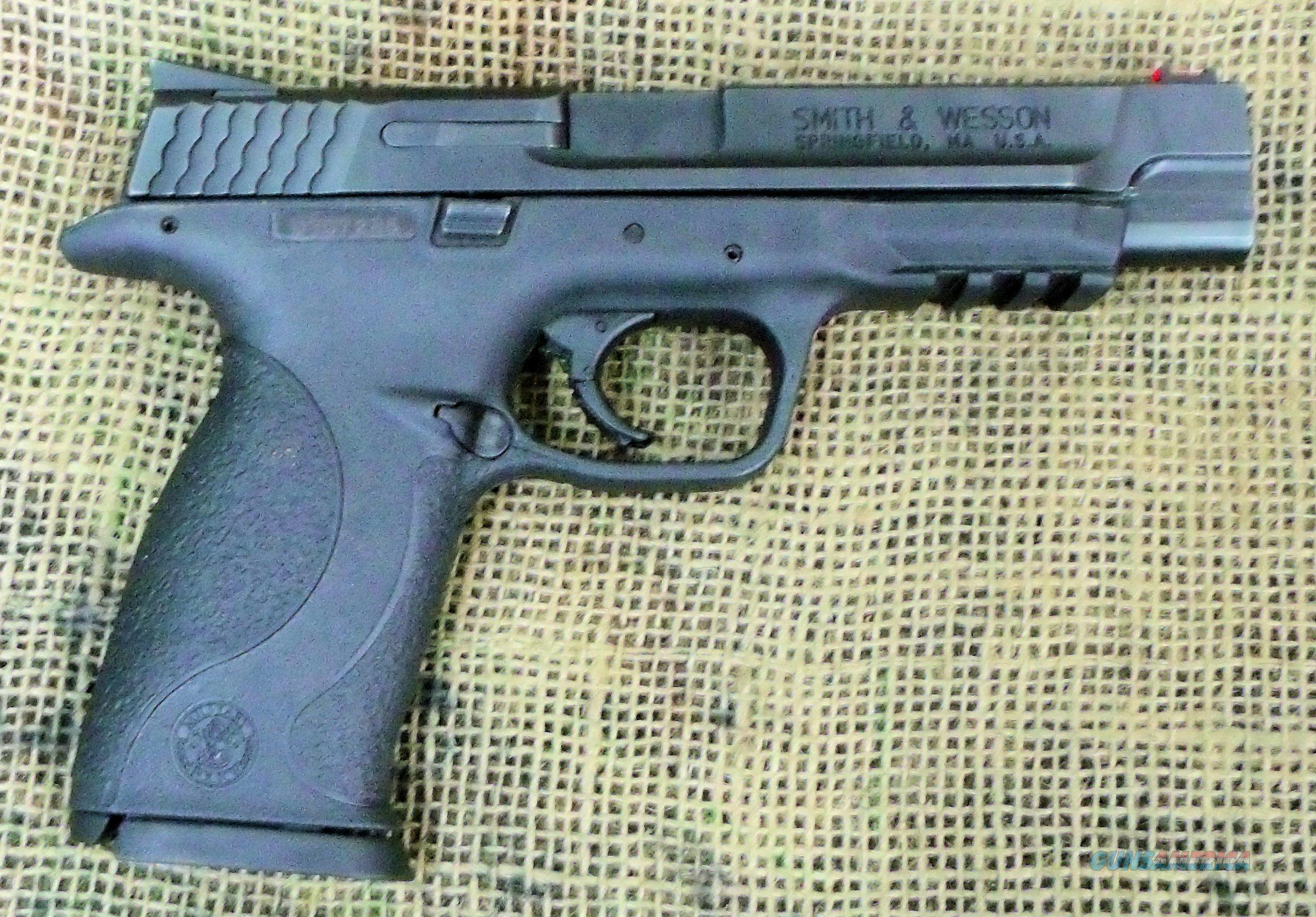 SMITH & WESSON M&P 9 Pro Pistol, 9mm Cal.  Guns > Pistols > Smith & Wesson Pistols - Autos > Polymer Frame