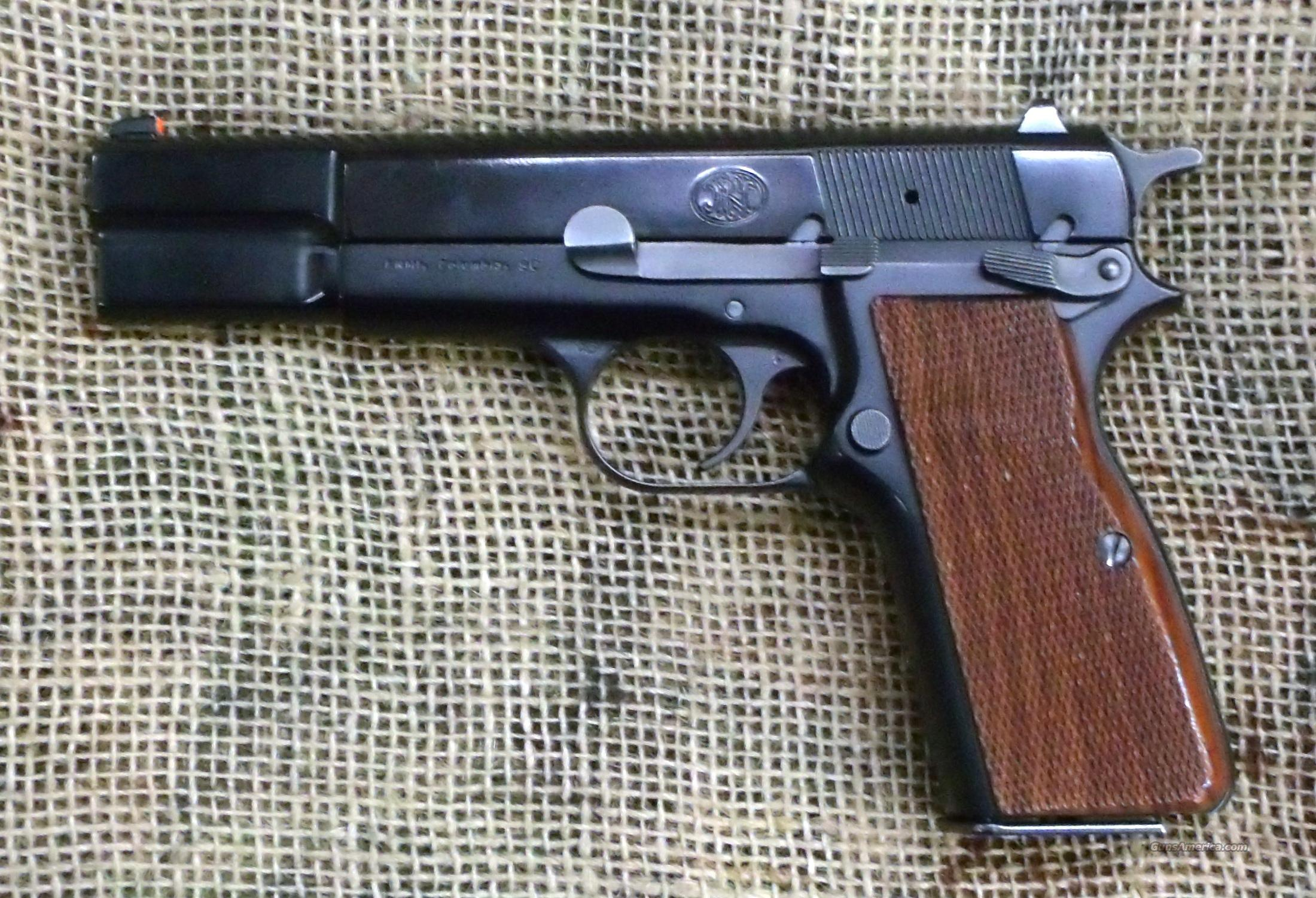 FN Hi-Power Pistol, 9mm Luger Cal  Guns > Pistols > FNH - Fabrique Nationale (FN) Pistols > High Power Type
