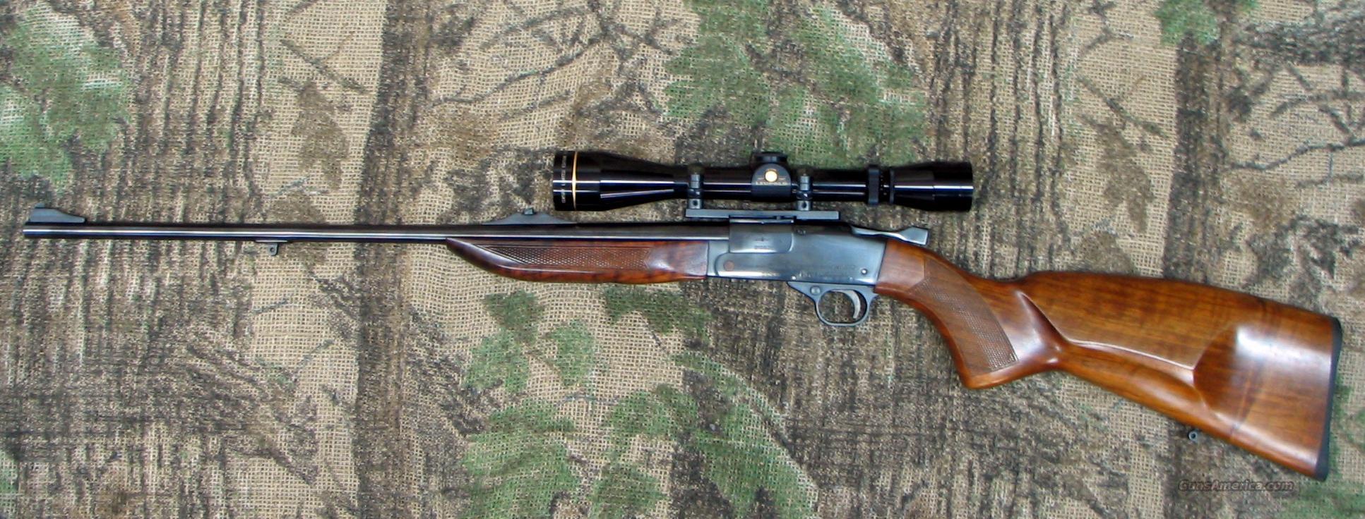 BRNO ARMS Mod  ZBK110 Single Shot Rifle, 223 Cal