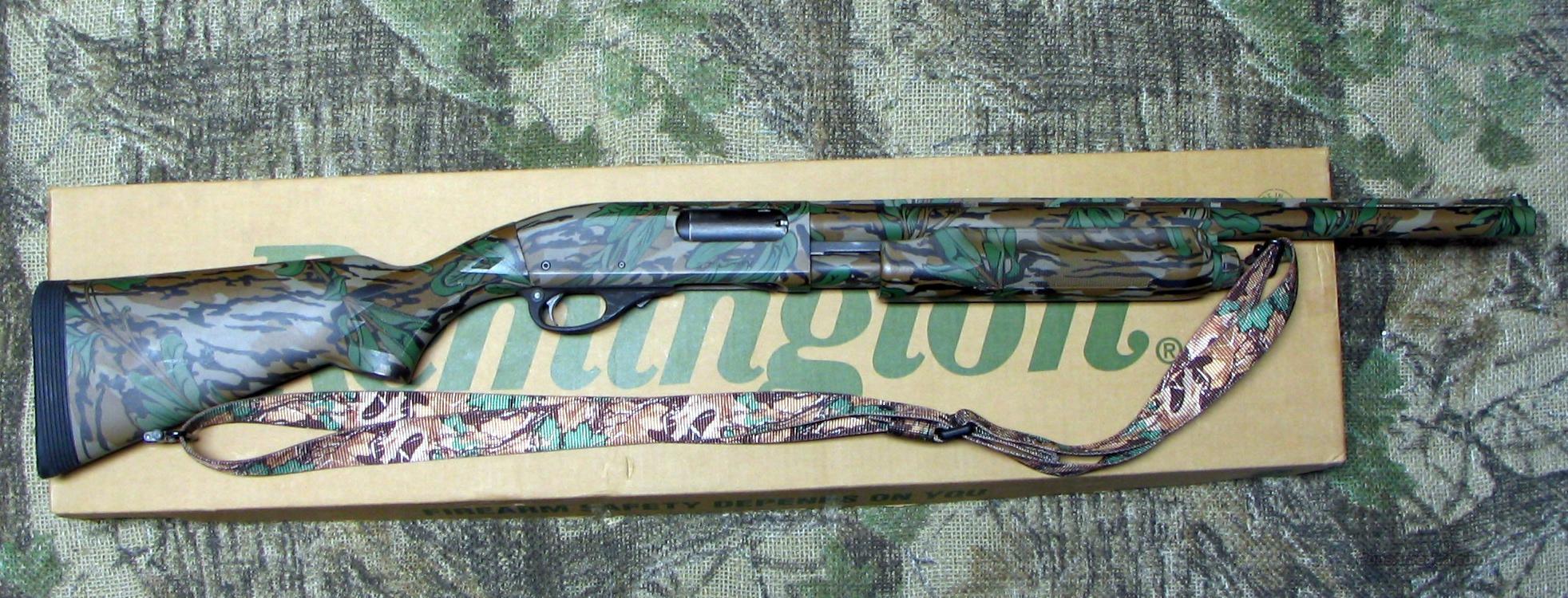 Remington 870 Magnum Green Leaf Camo 12 Ga S For Sale