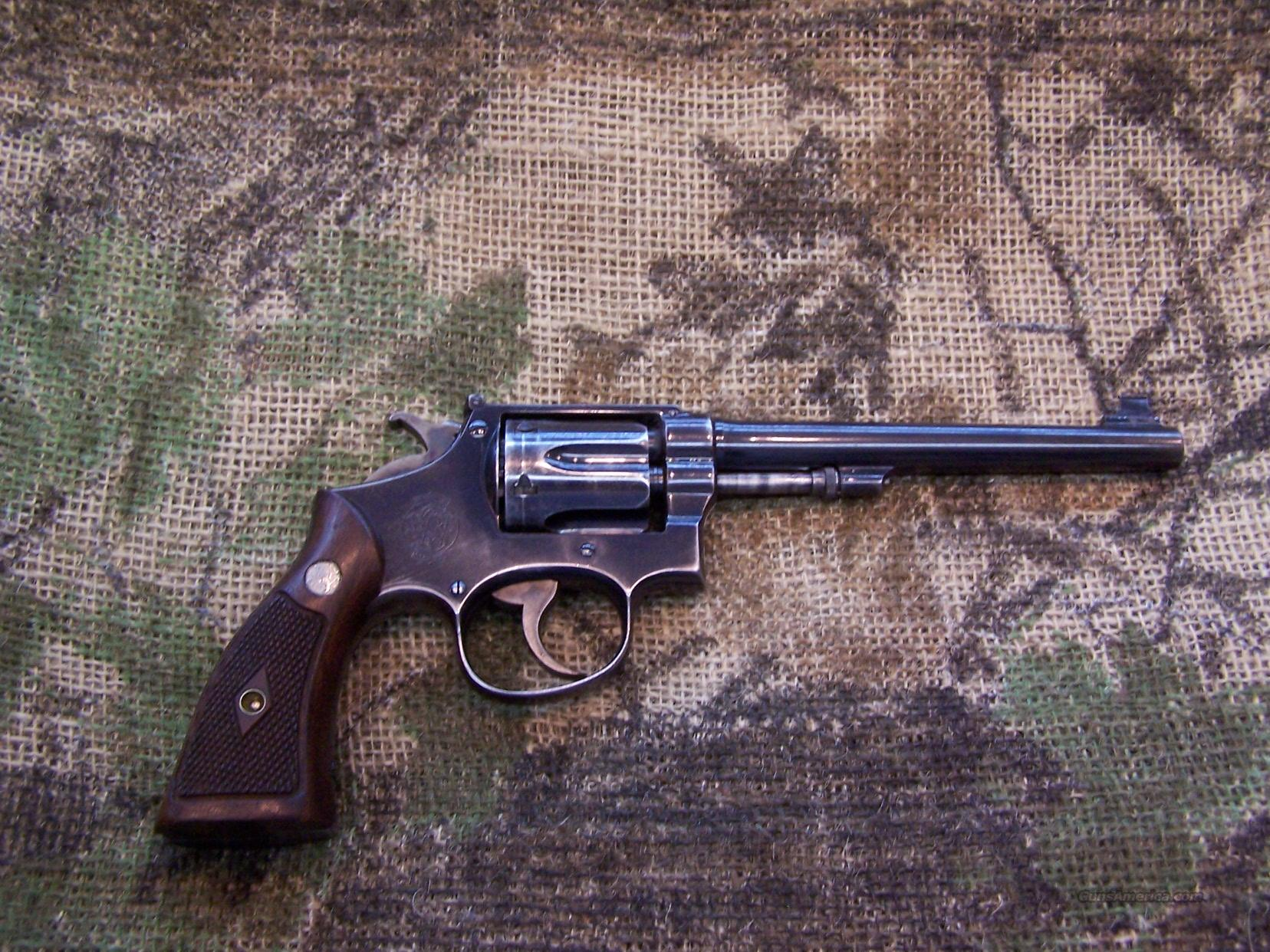 Smith & Wesson 1905 38 Special Target Revolver M&P  Guns > Pistols > Smith & Wesson Revolvers > Pre-1945