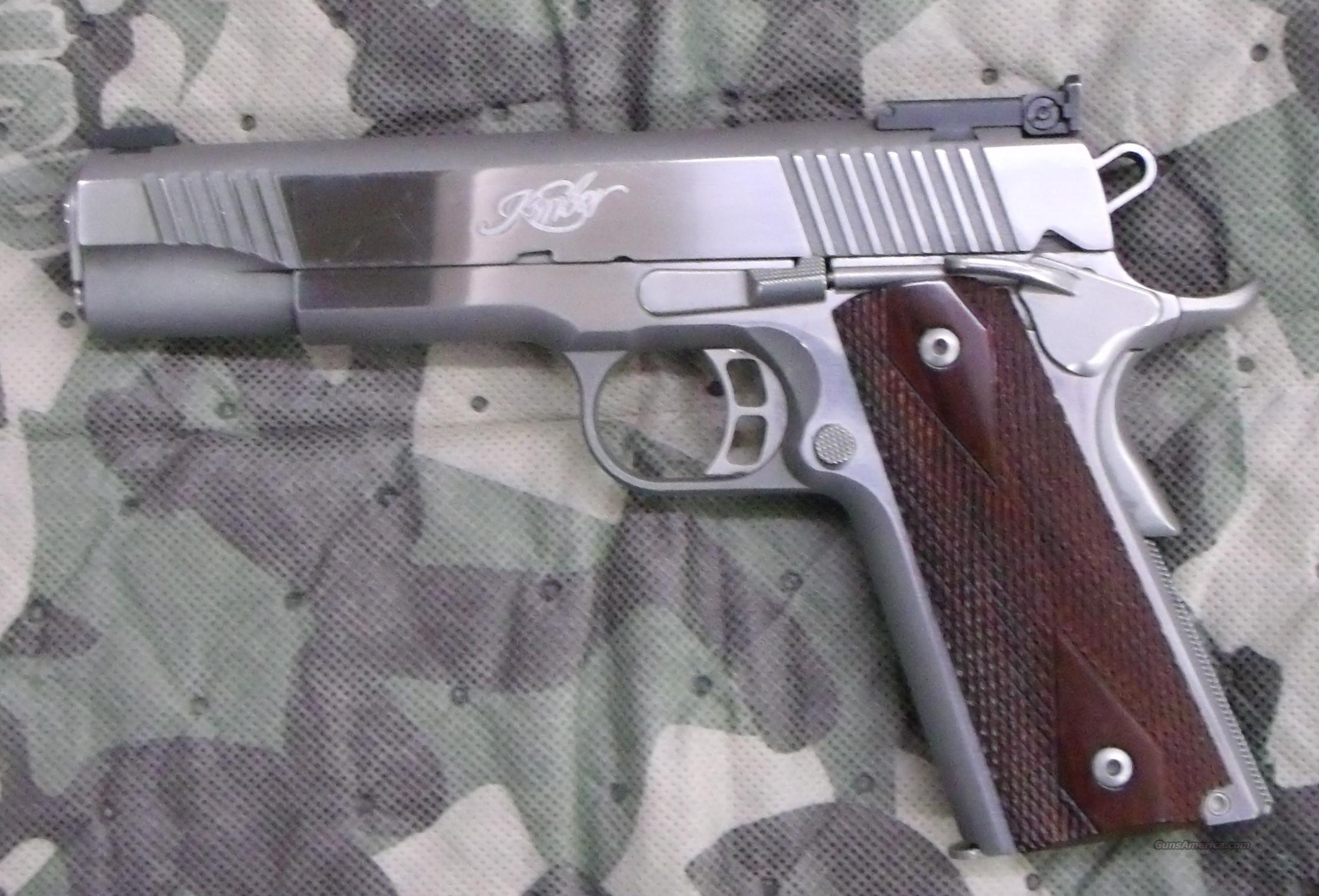 Kimber Gold Match Stainless Target, 45 ACP Cal.   Guns > Pistols > Kimber of America Pistols