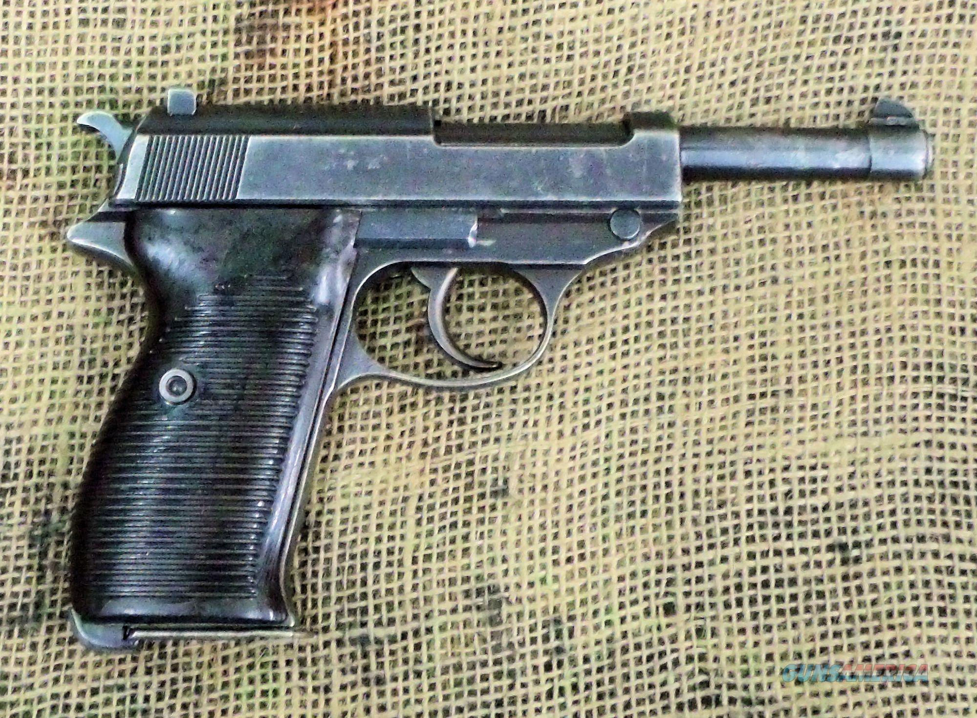 WALTHER(ac42) Model P38 Pistol, 9mm Cal.  Guns > Pistols > Walther Pistols > Pre-1945 > P-38