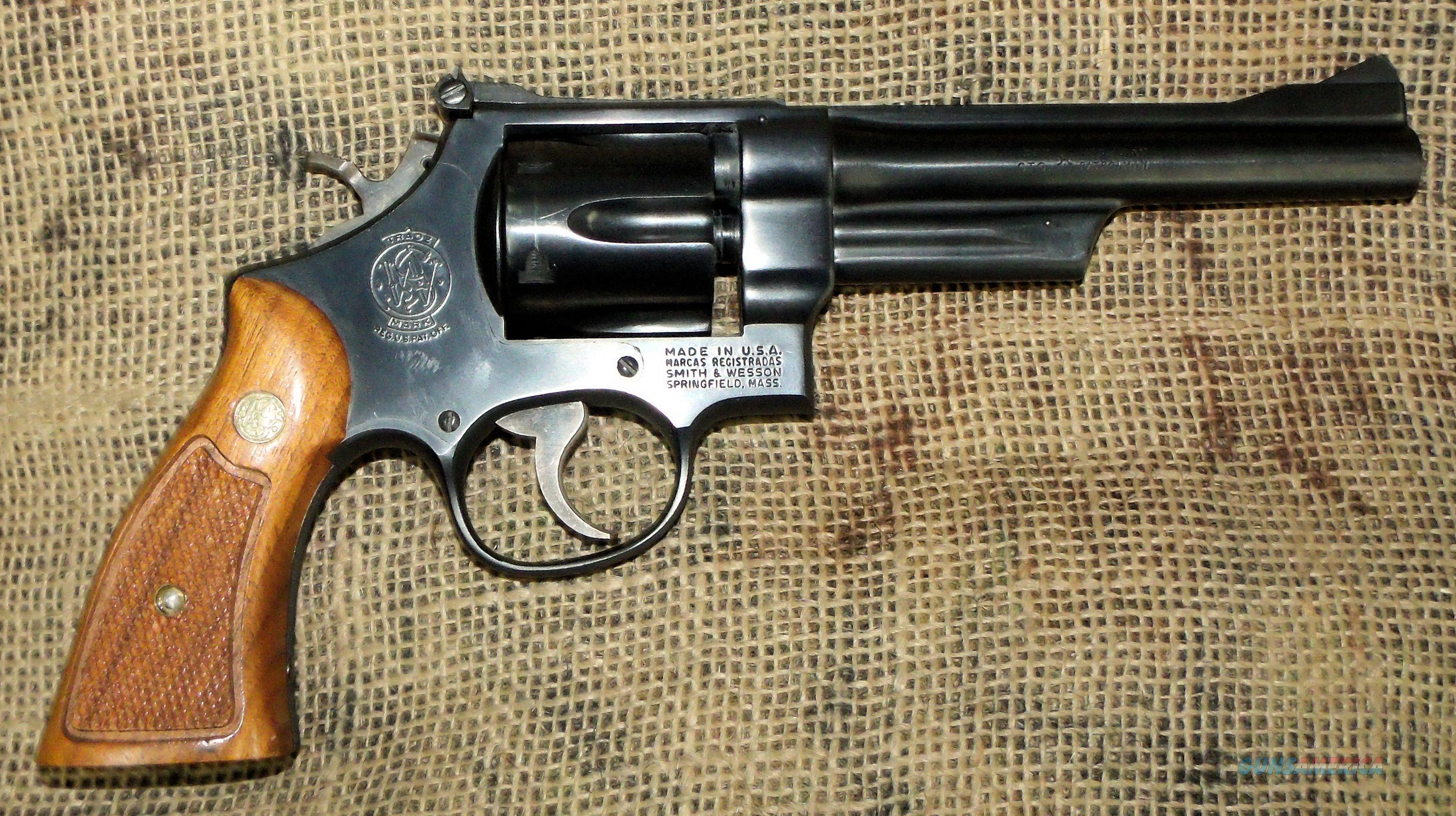 SMITH & WESSON Mod. 28-2, 357 Mag. Rev.  Guns > Pistols > Smith & Wesson Revolvers > Full Frame Revolver