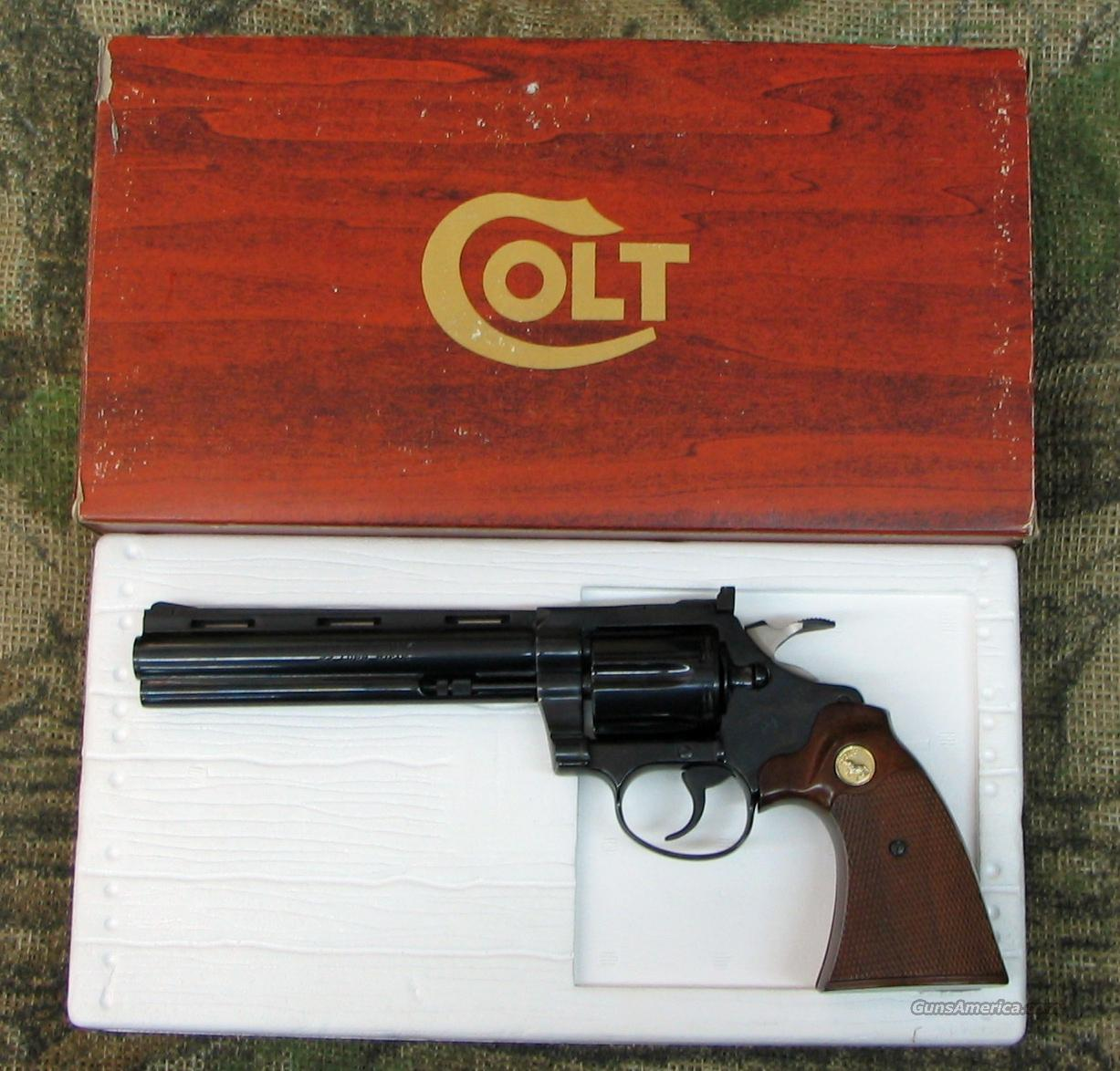 Colt Diamondback 22 LR, 6 inch bbl, Blued(PRICE REDUCED)  Guns > Pistols > Colt Double Action Revolvers- Modern