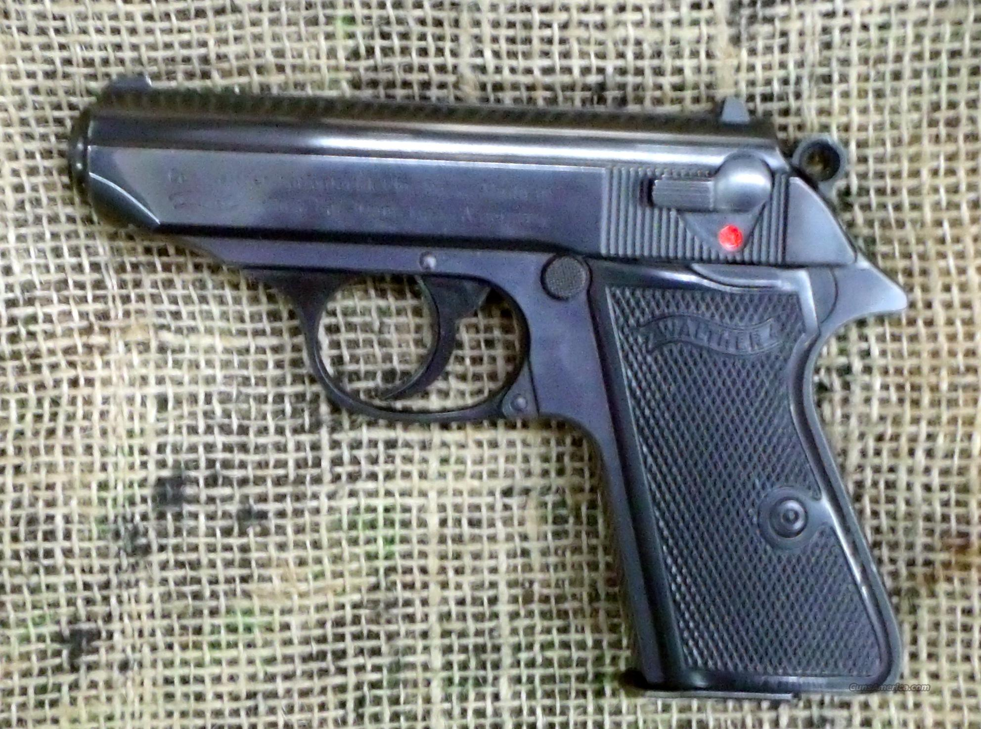 WALTHER Model PPK/S Pistol, 380ACP Cal.  Guns > Pistols > Walther Pistols > Post WWII > PPK Series