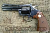 COLT Diamondback 38Spl, 4 inch, Blued  Guns > Pistols > Colt Double Action Revolvers- Modern